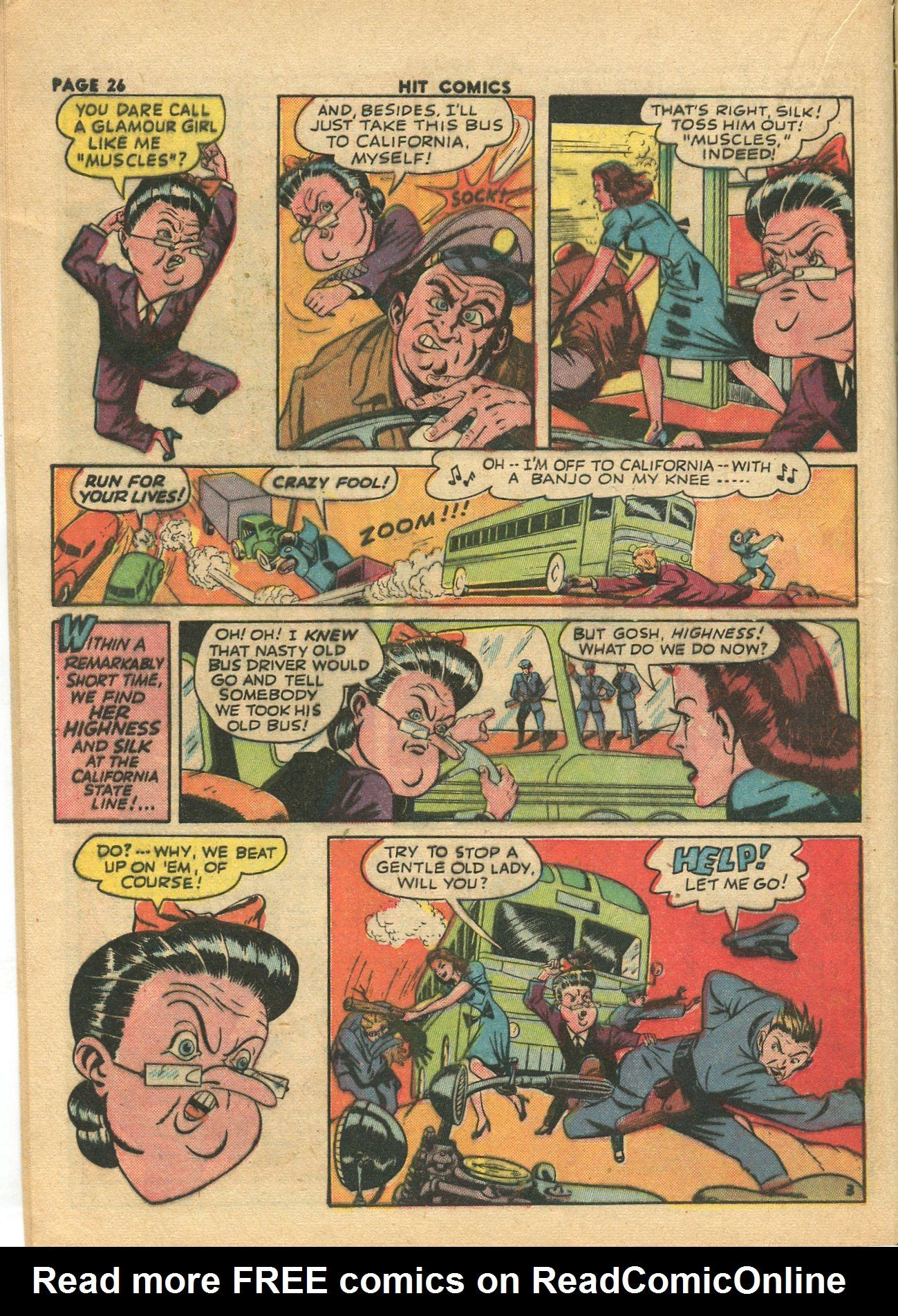 Read online Hit Comics comic -  Issue #28 - 29