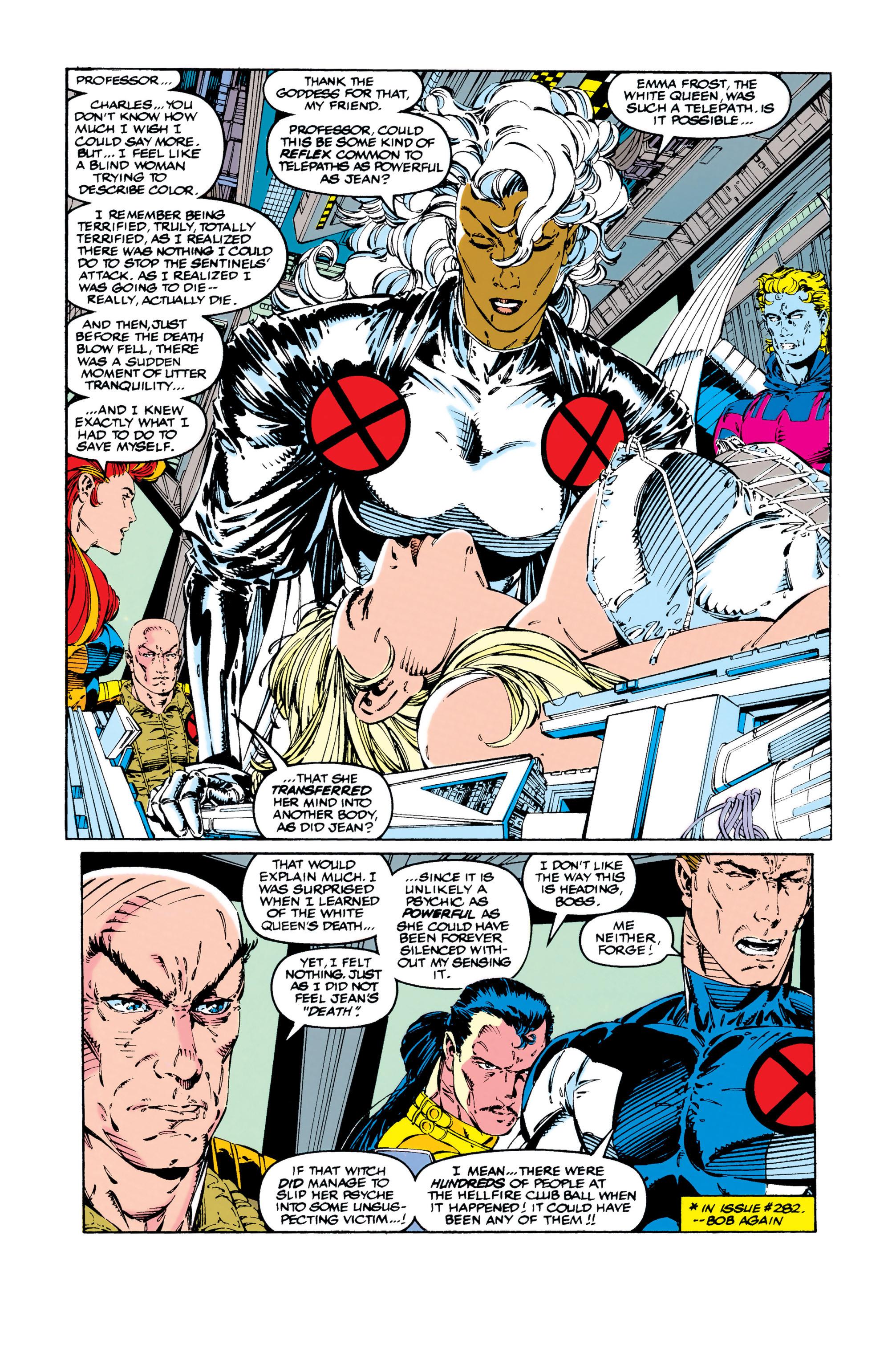 Read online Uncanny X-Men (1963) comic -  Issue #284 - 6