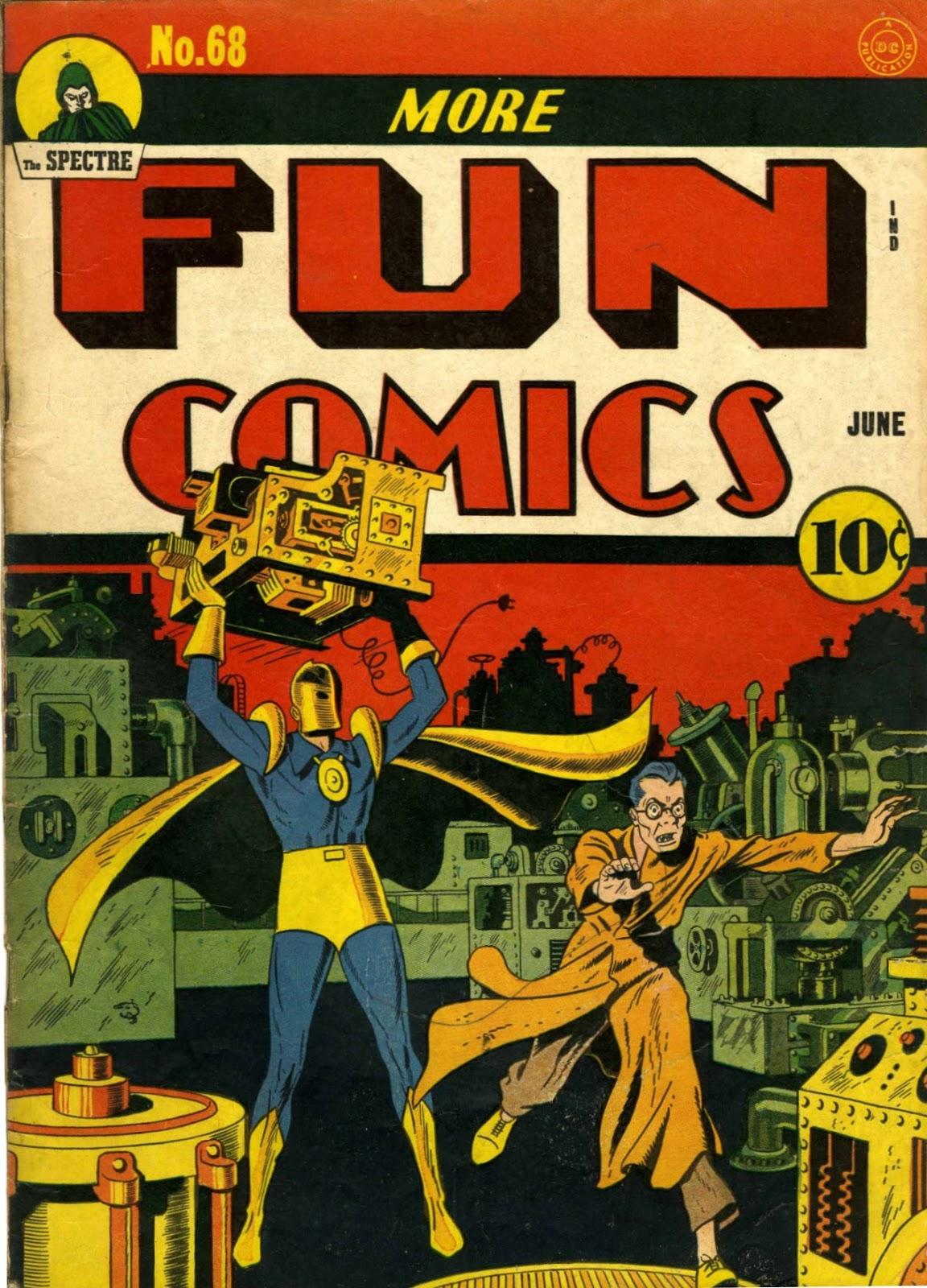 More Fun Comics 68 Page 1