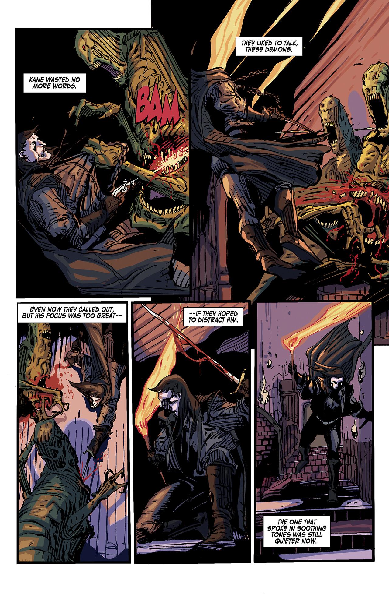 Read online Solomon Kane: Death's Black Riders comic -  Issue #4 - 18