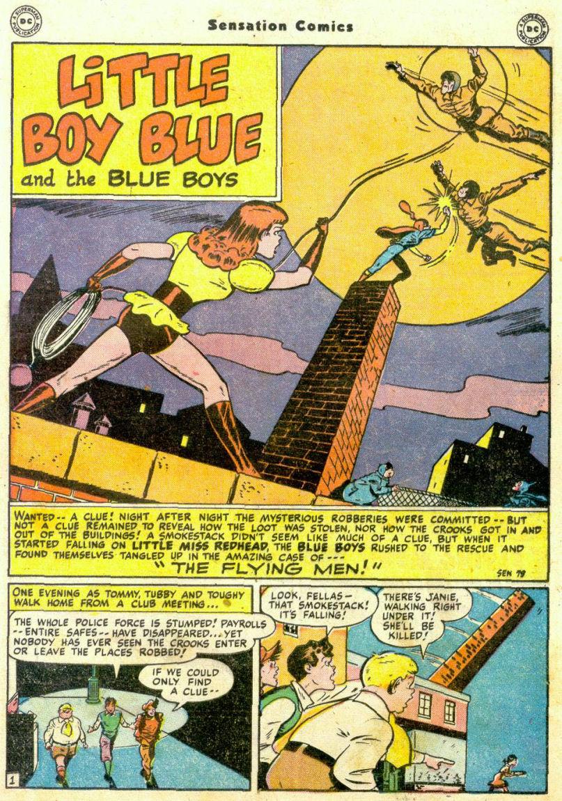 Read online Sensation (Mystery) Comics comic -  Issue #75 - 16
