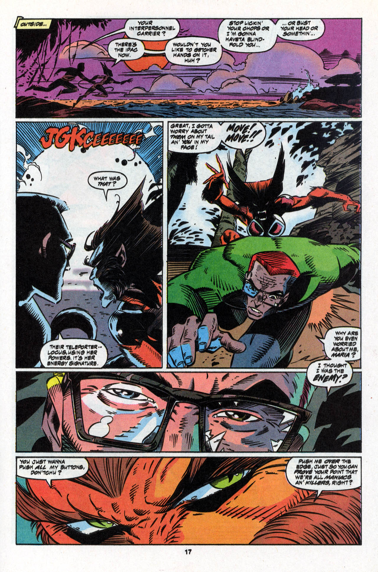 Read online X-Force (1991) comic -  Issue #28 - 18