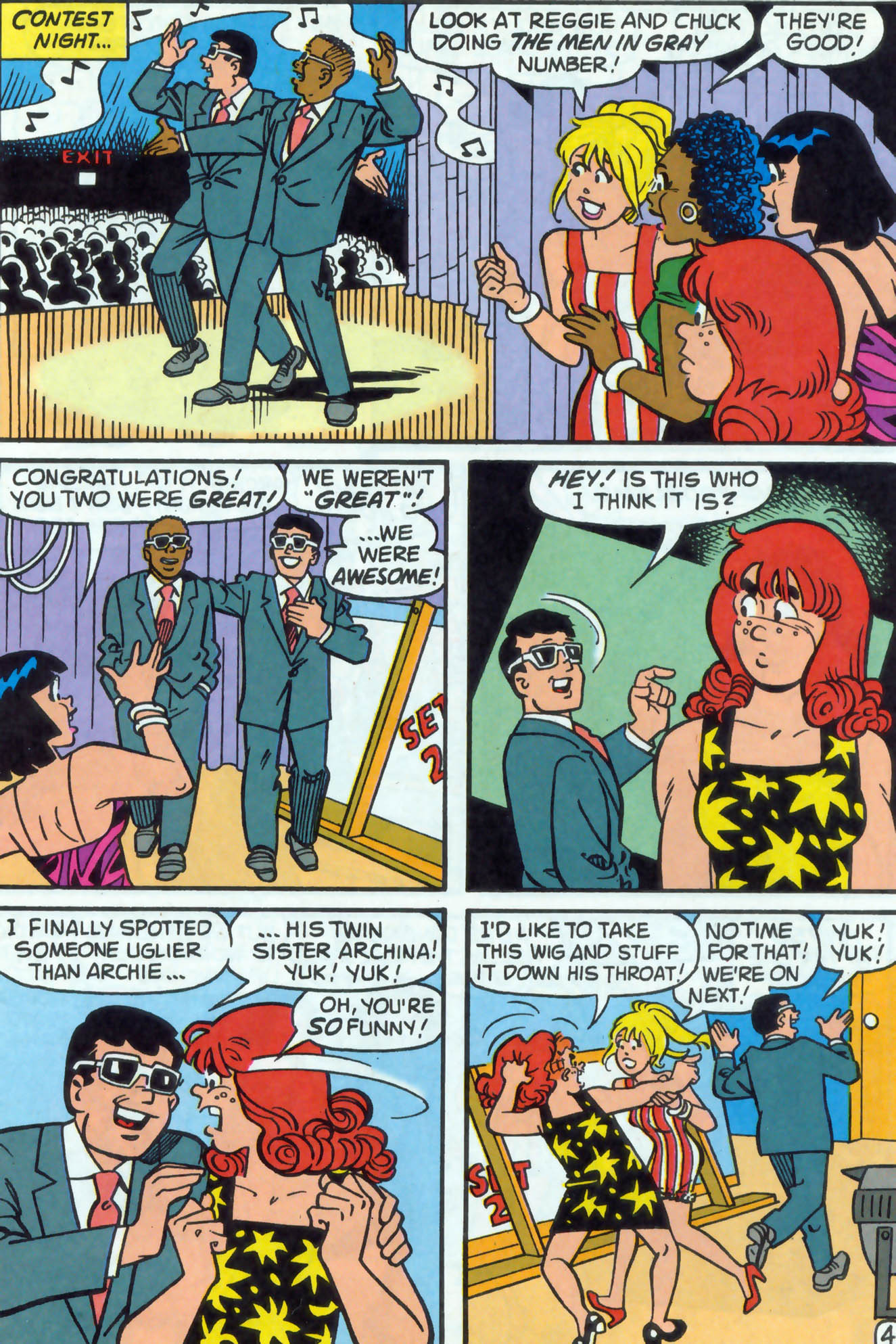 Read online Archie (1960) comic -  Issue #478 - 5