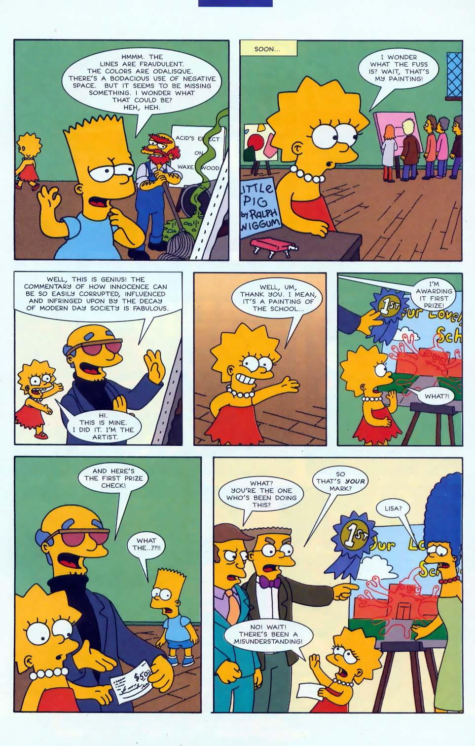 Read online Simpsons Comics comic -  Issue #46 - 25