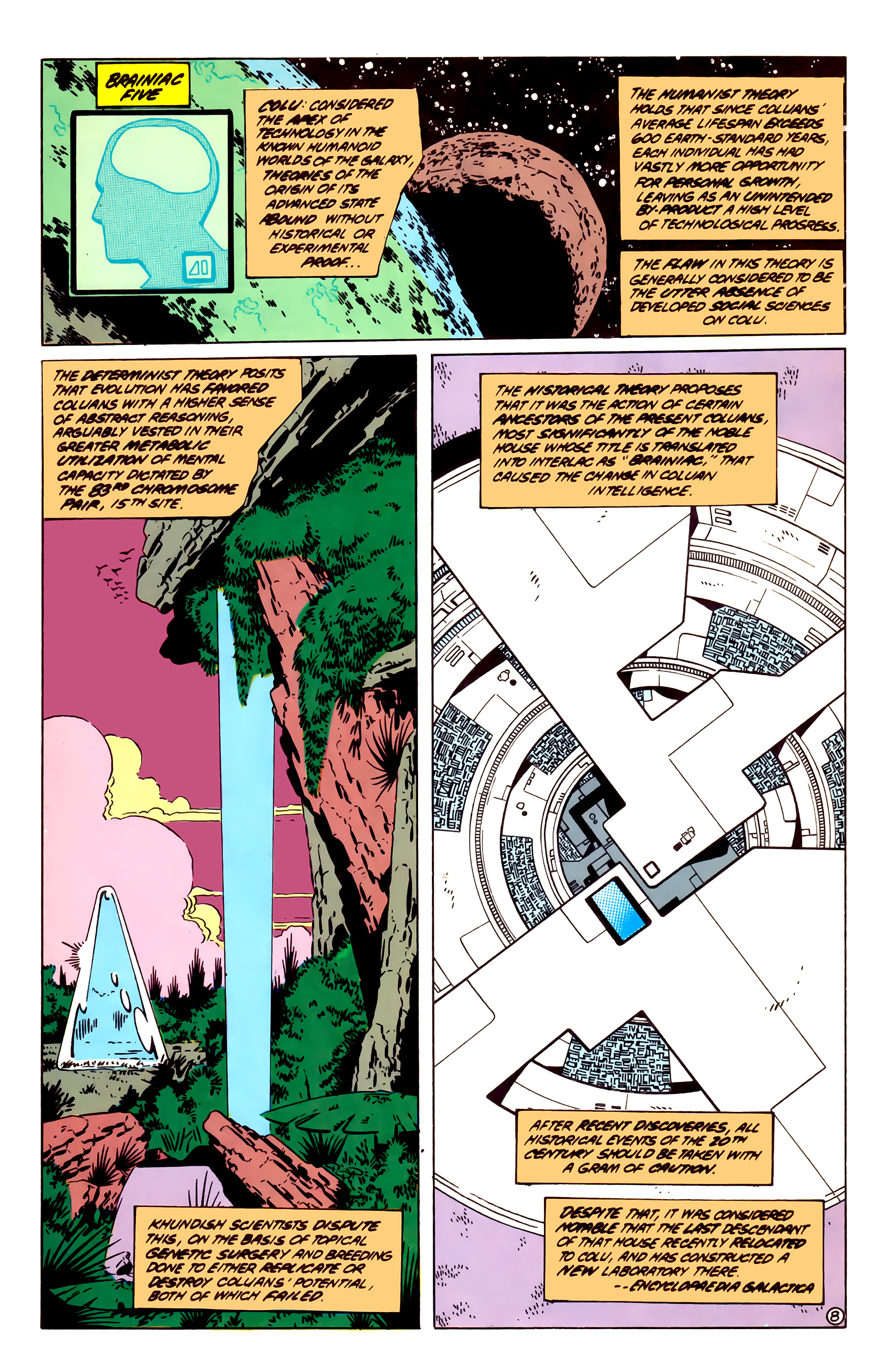 Legion of Super-Heroes (1984) 55 Page 8