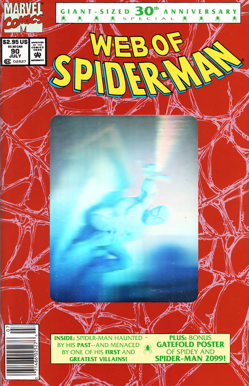 Web of Spider-Man (1985) 90 Page 1