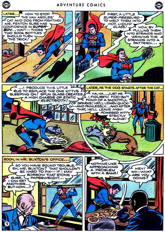 Read online Adventure Comics (1938) comic -  Issue #163 - 11