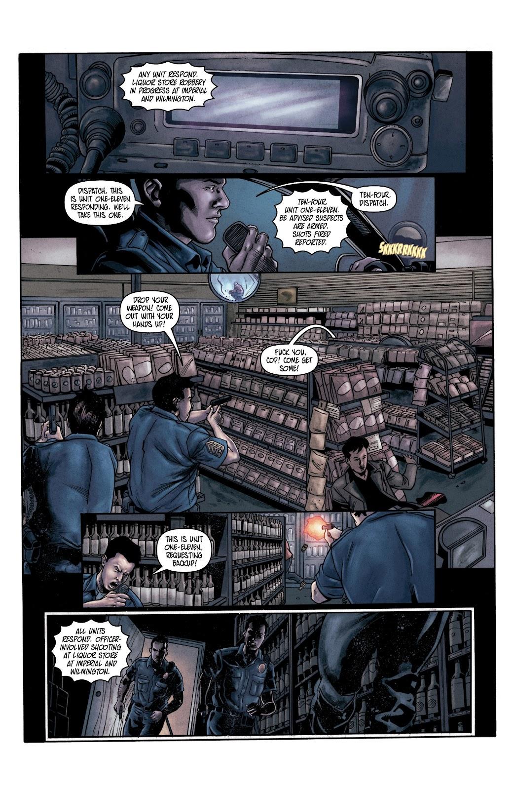 Read online Vindication comic -  Issue #2 - 10