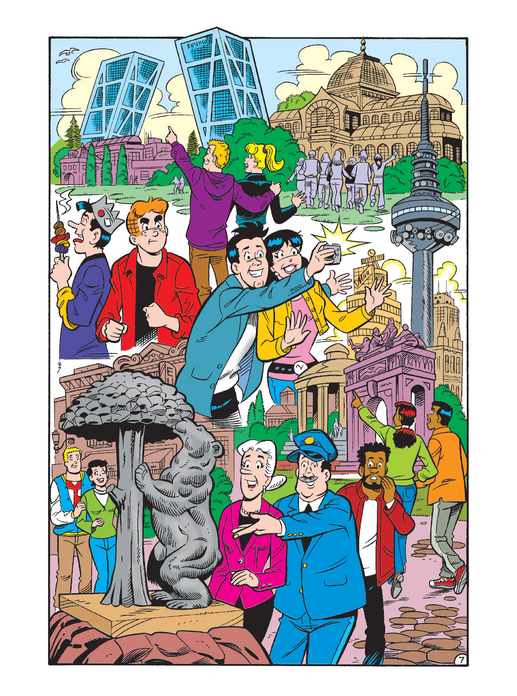Read online Archie's Funhouse Double Digest comic -  Issue #2 - 42