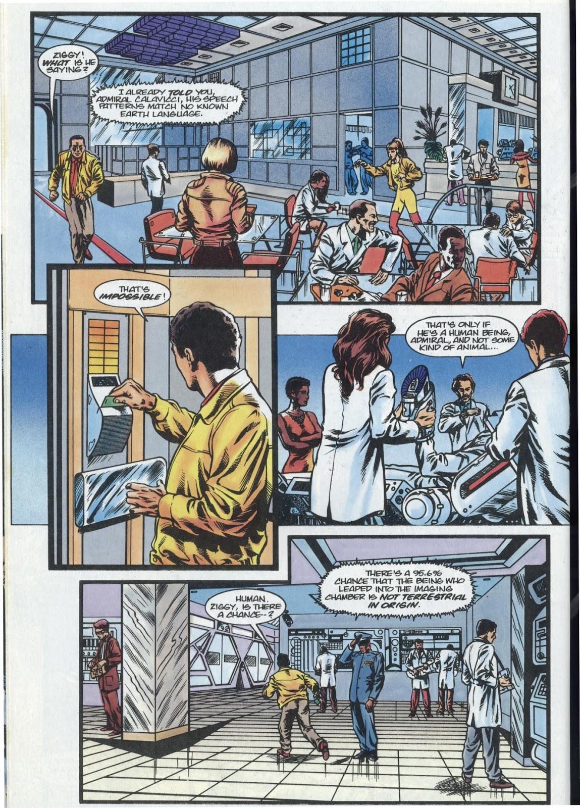 Read online Quantum Leap comic -  Issue #13 - 28