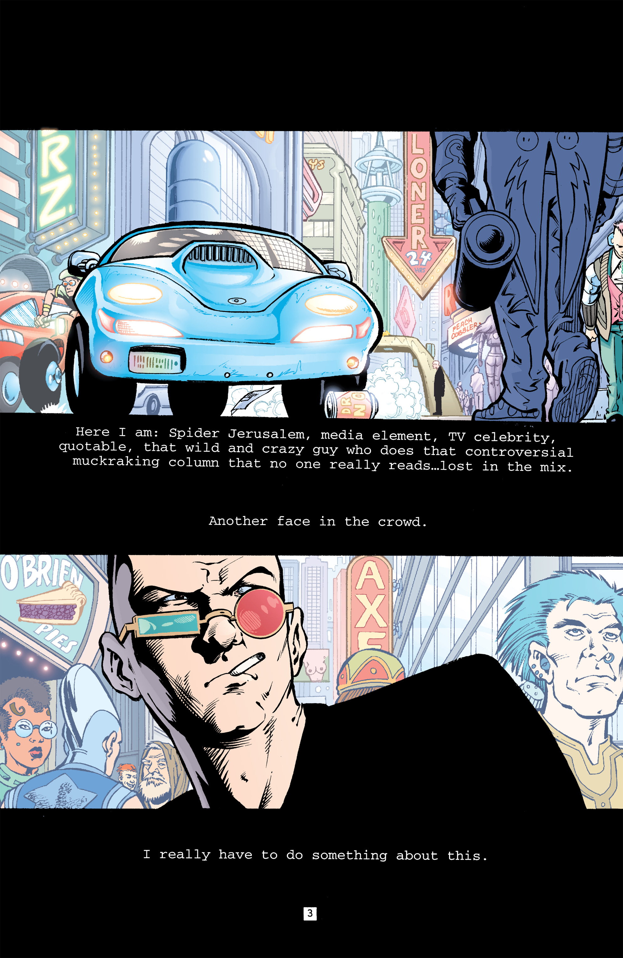 Read online Transmetropolitan comic -  Issue #32 - 4