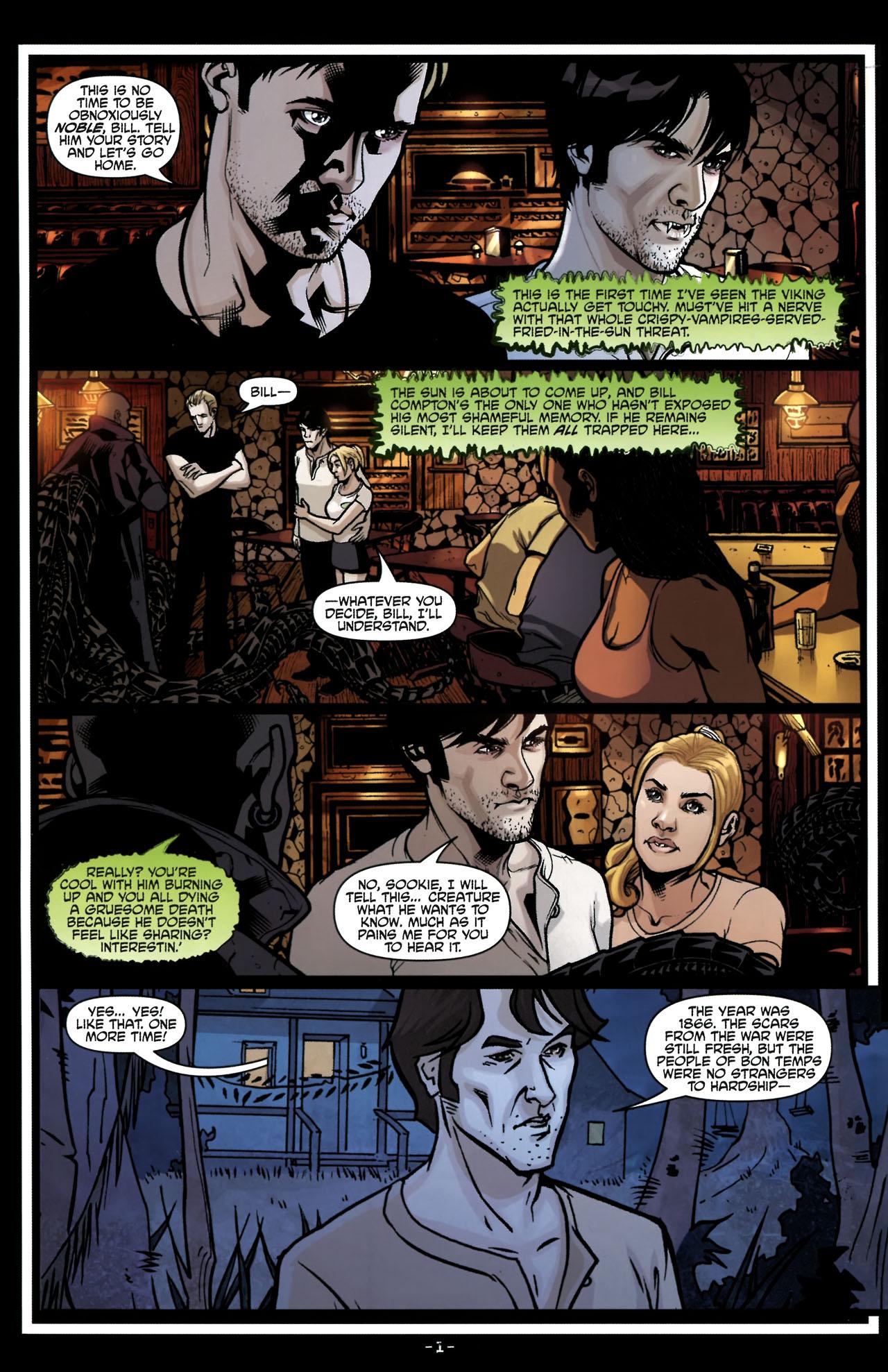 Read online True Blood (2010) comic -  Issue #6 - 4