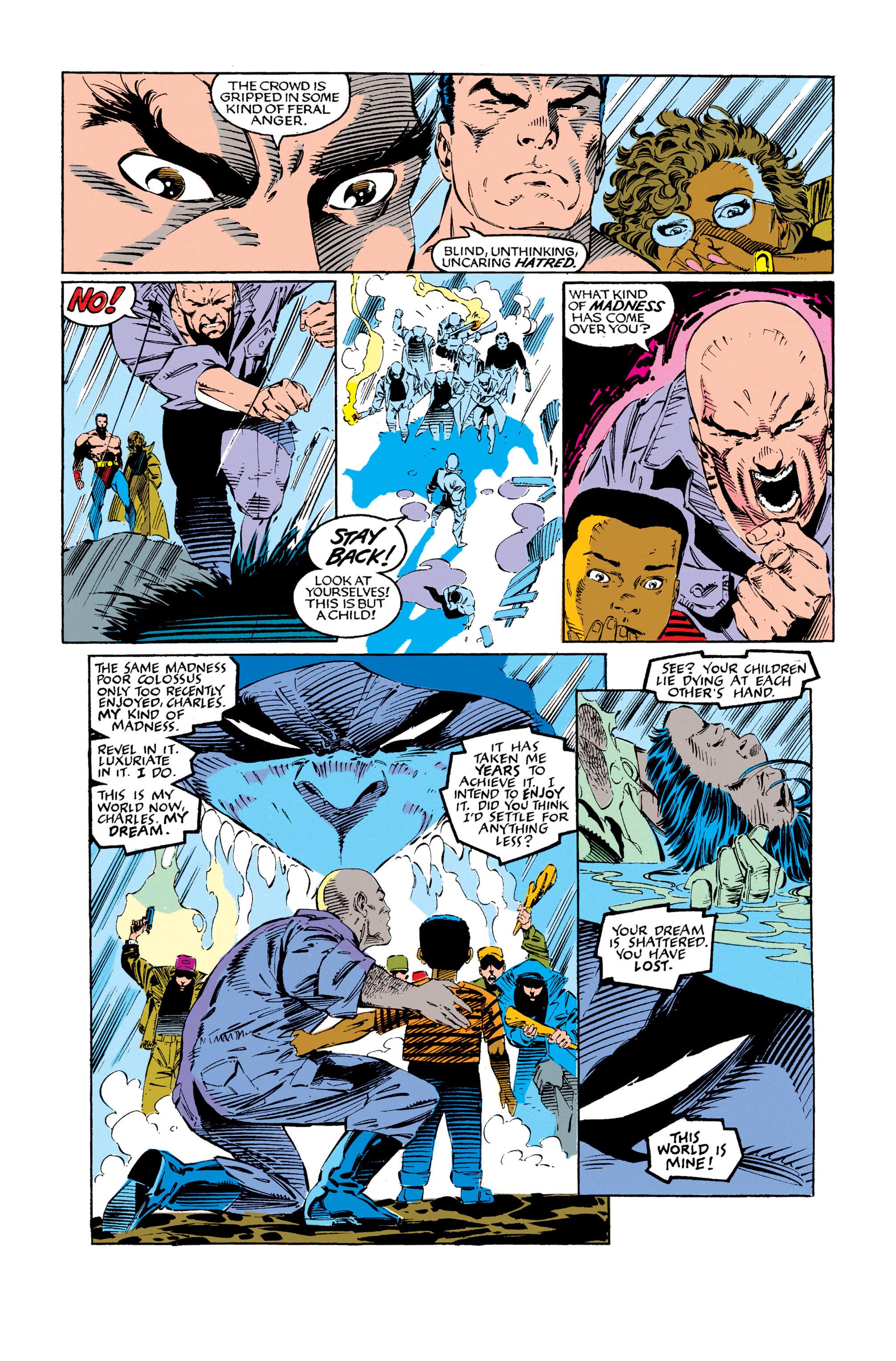 Read online Uncanny X-Men (1963) comic -  Issue #279 - 23