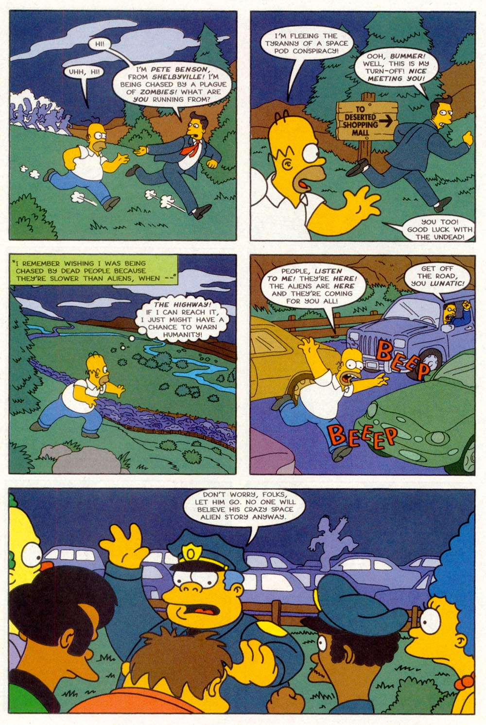 Read online Treehouse of Horror comic -  Issue #3 - 21