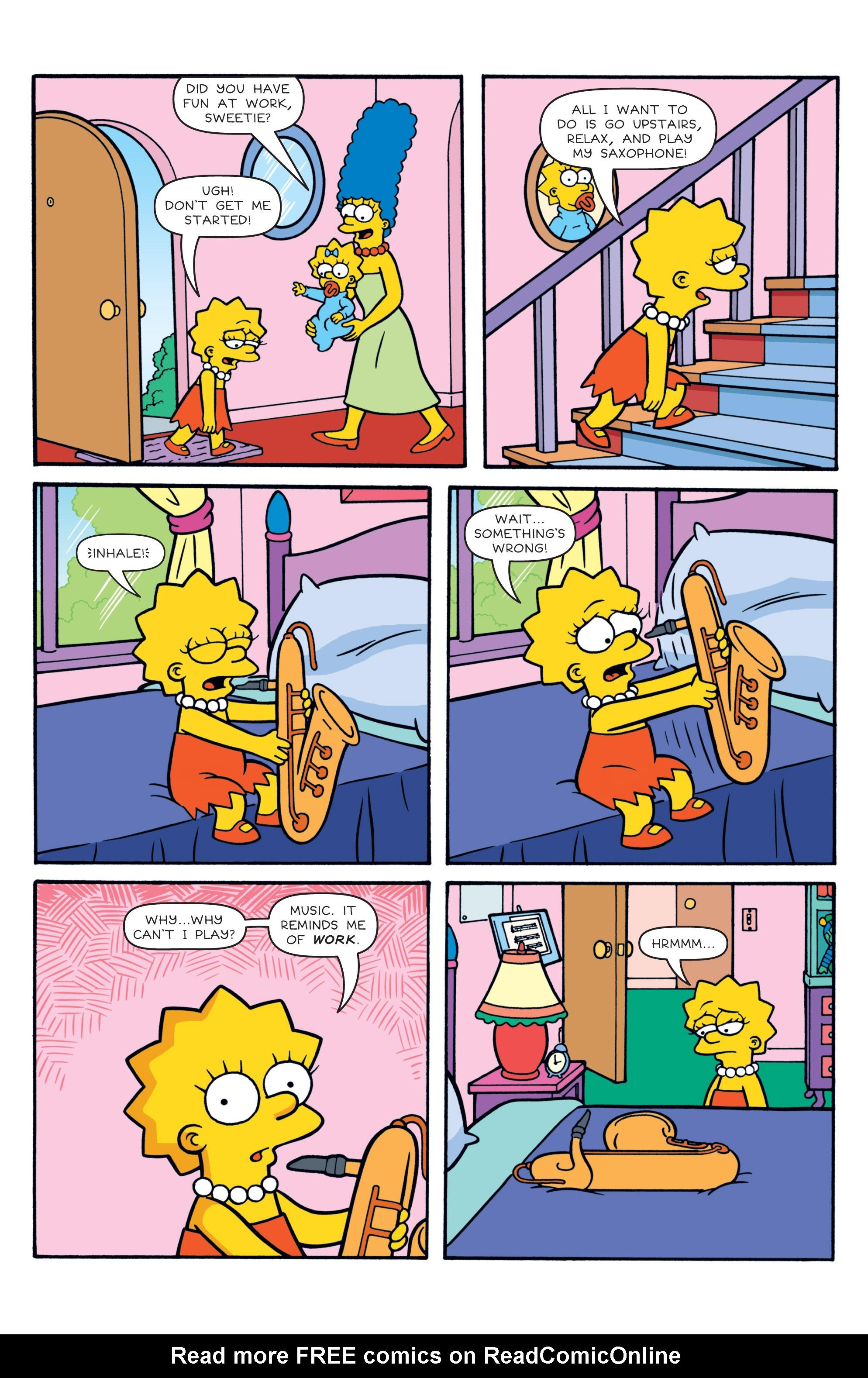 Read online Simpsons Comics comic -  Issue #188 - 17