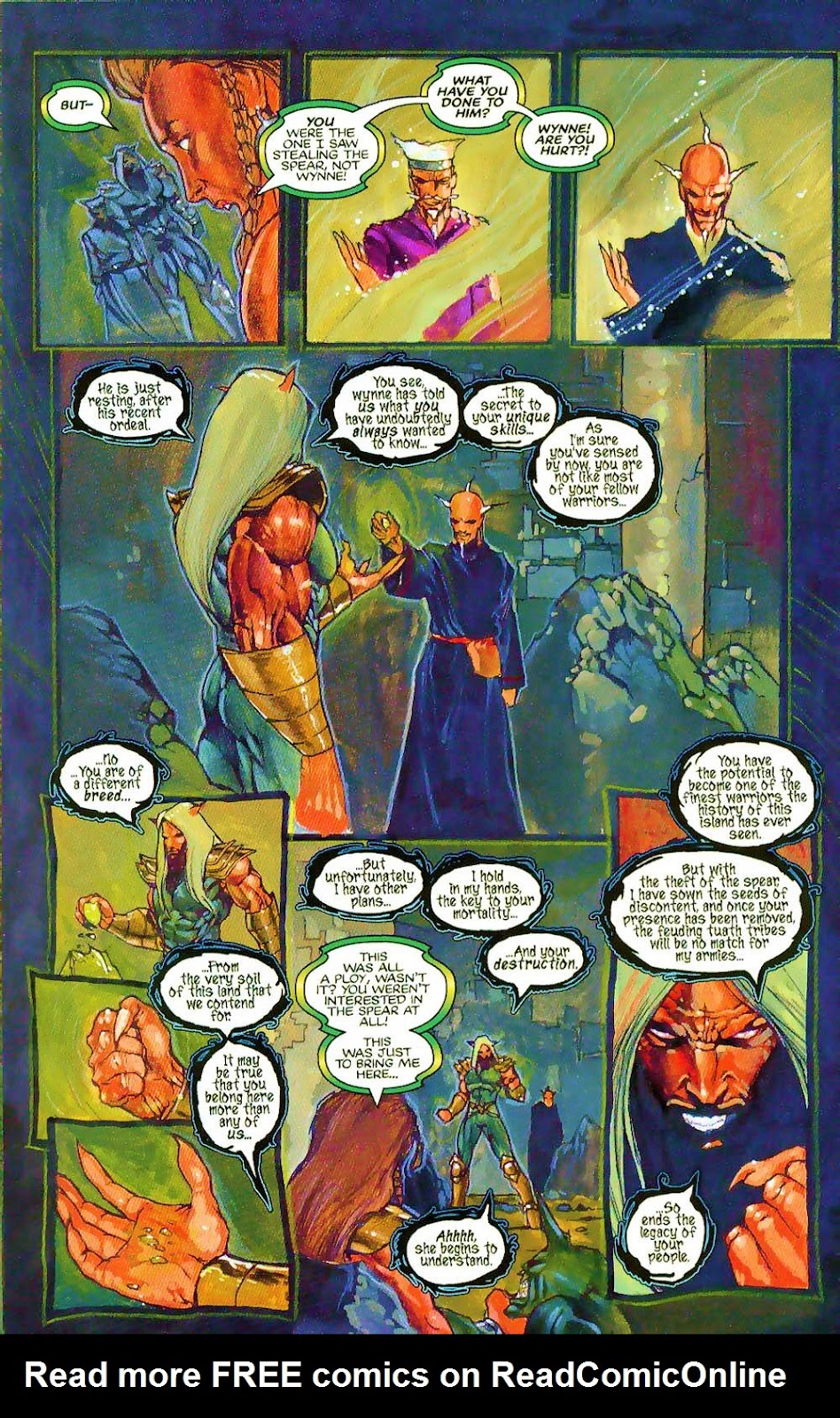 More Than Mortal: Sagas issue 3 - Page 8