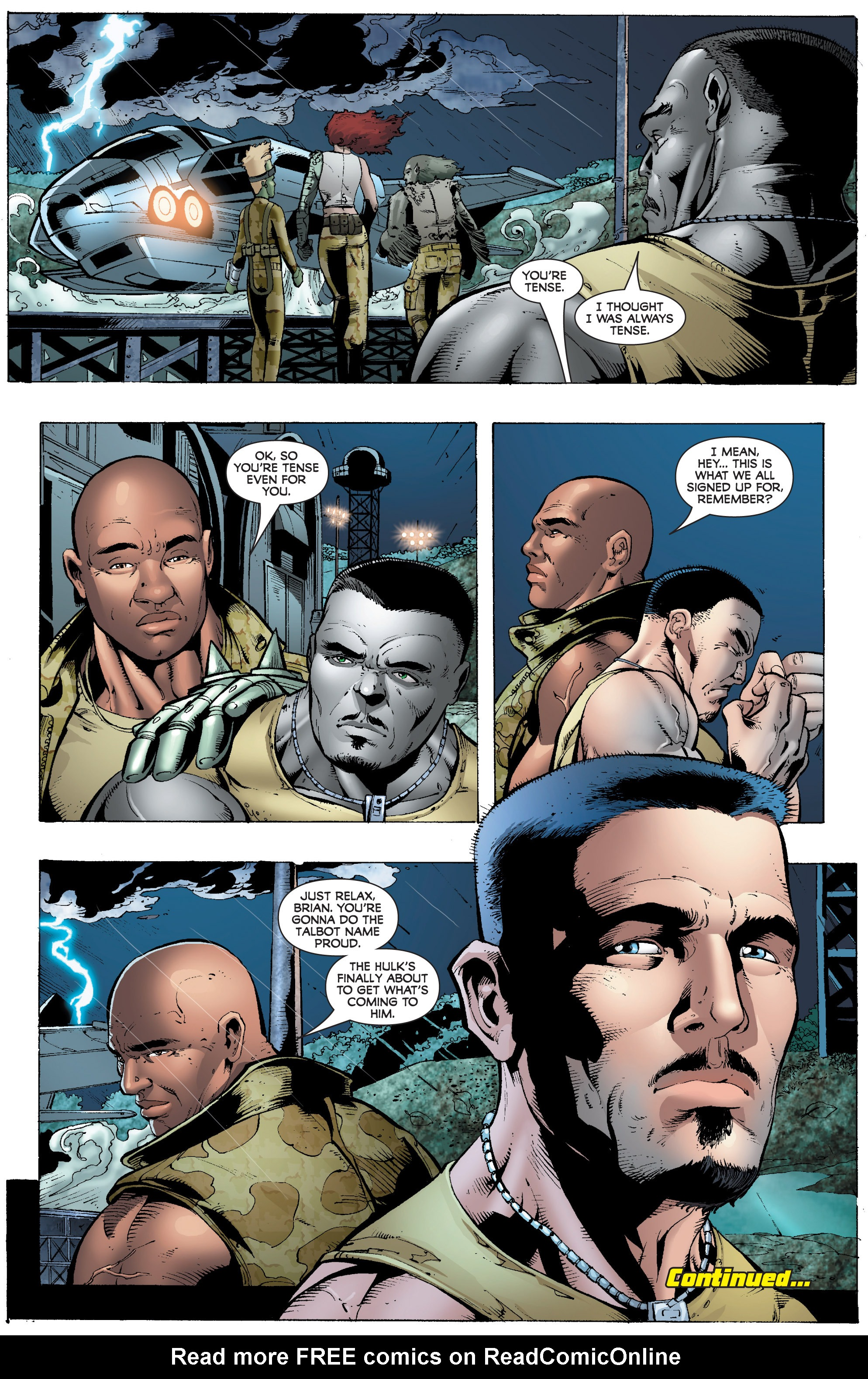Read online World War Hulk: Gamma Corps comic -  Issue #1 - 25