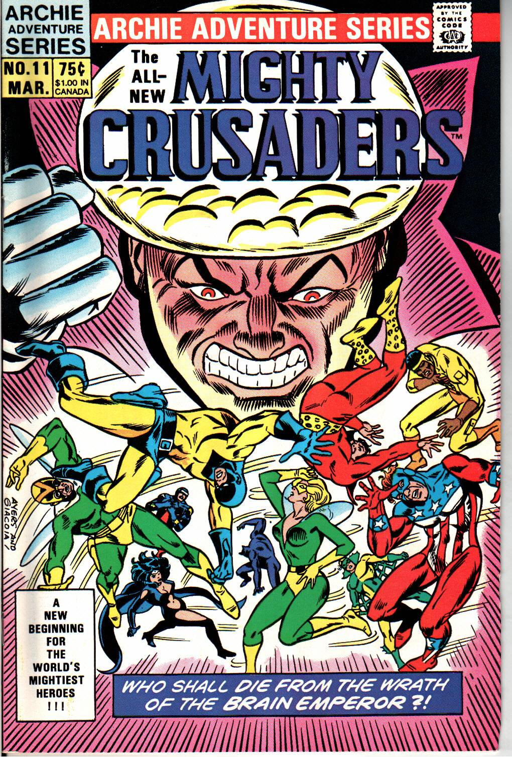 The All New Adventures of the Mighty Crusaders 11 Page 1