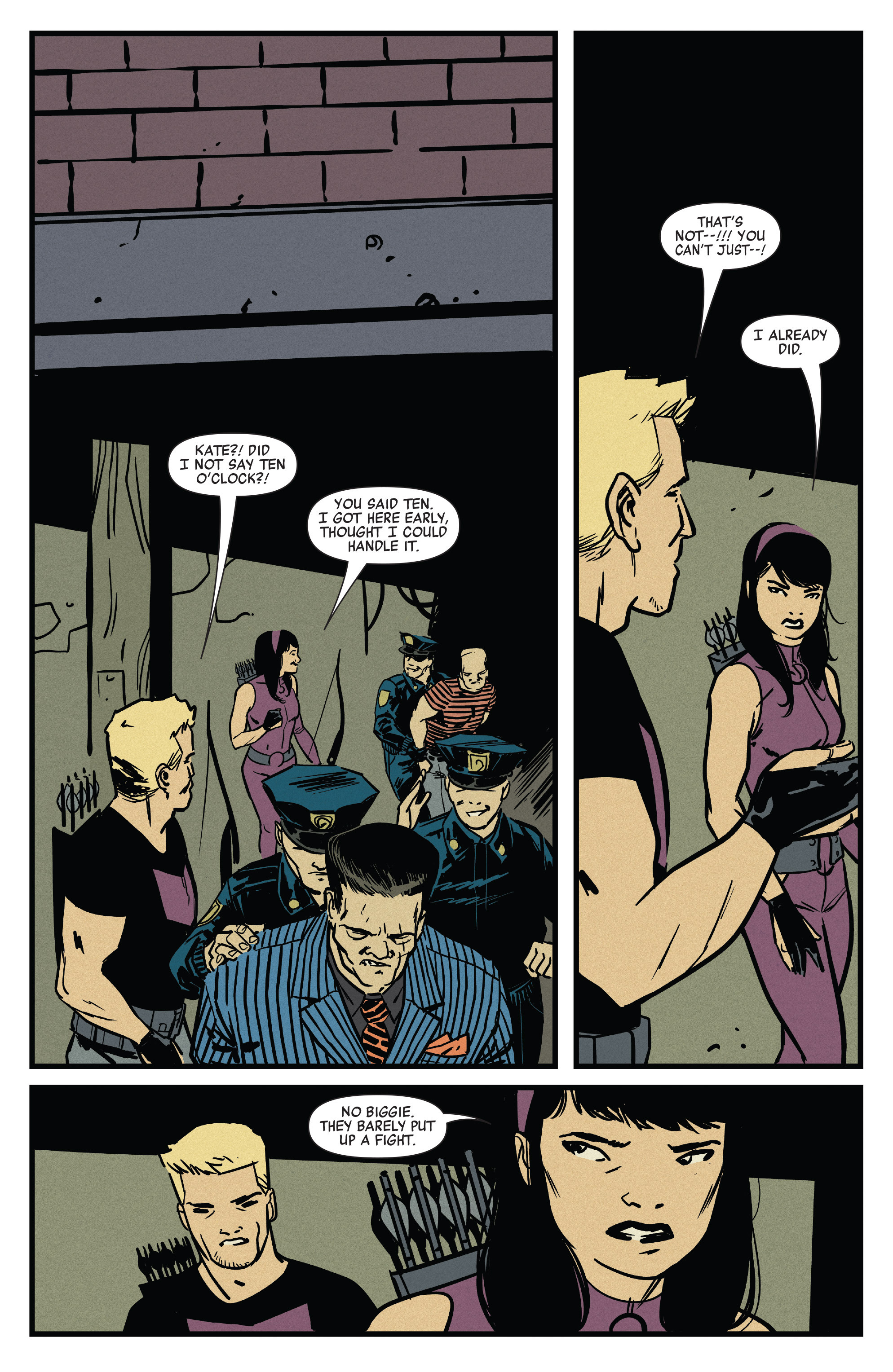 Read online All-New Hawkeye (2016) comic -  Issue #1 - 13