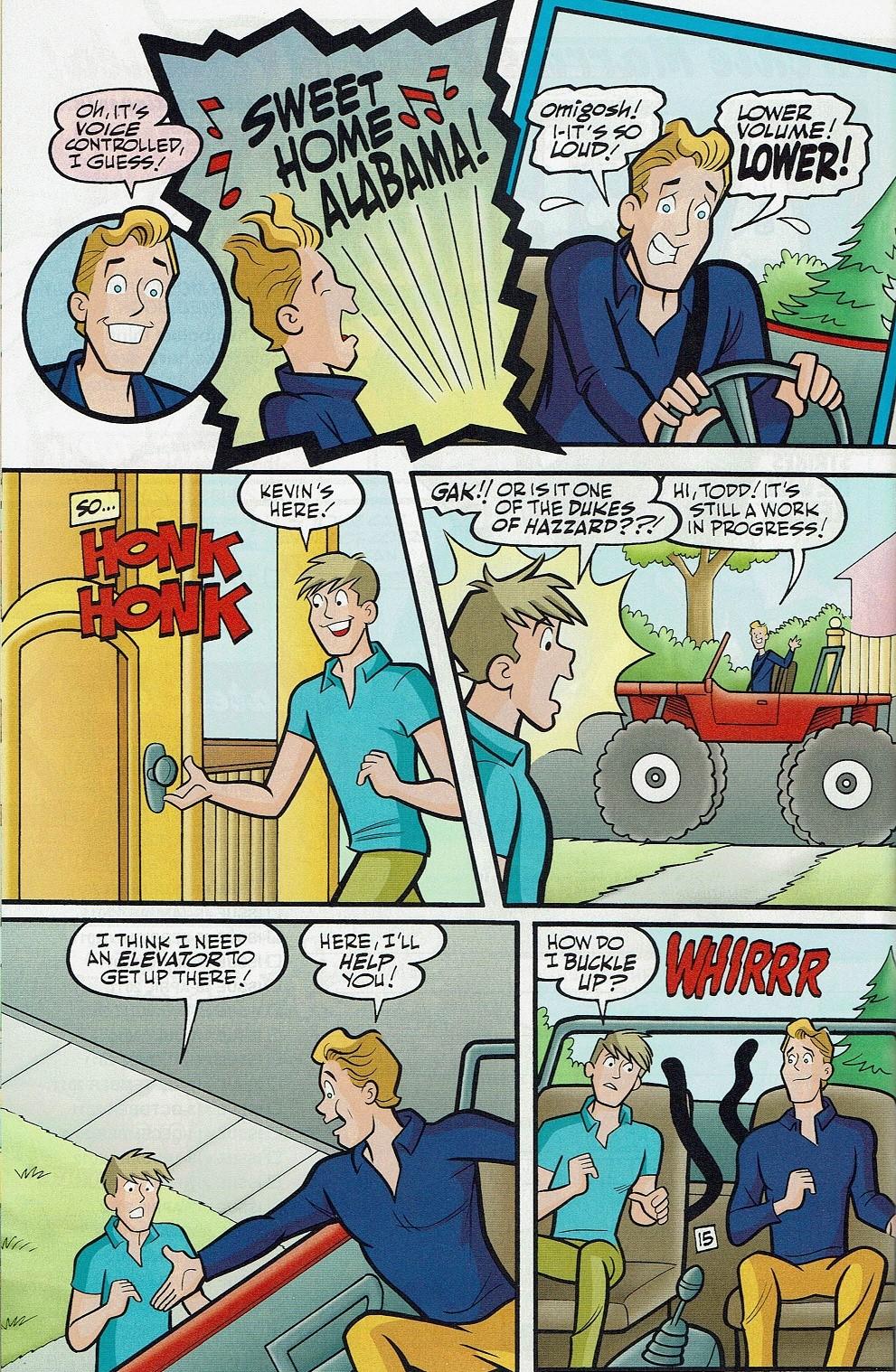 Read online Kevin Keller comic -  Issue #5 - 27