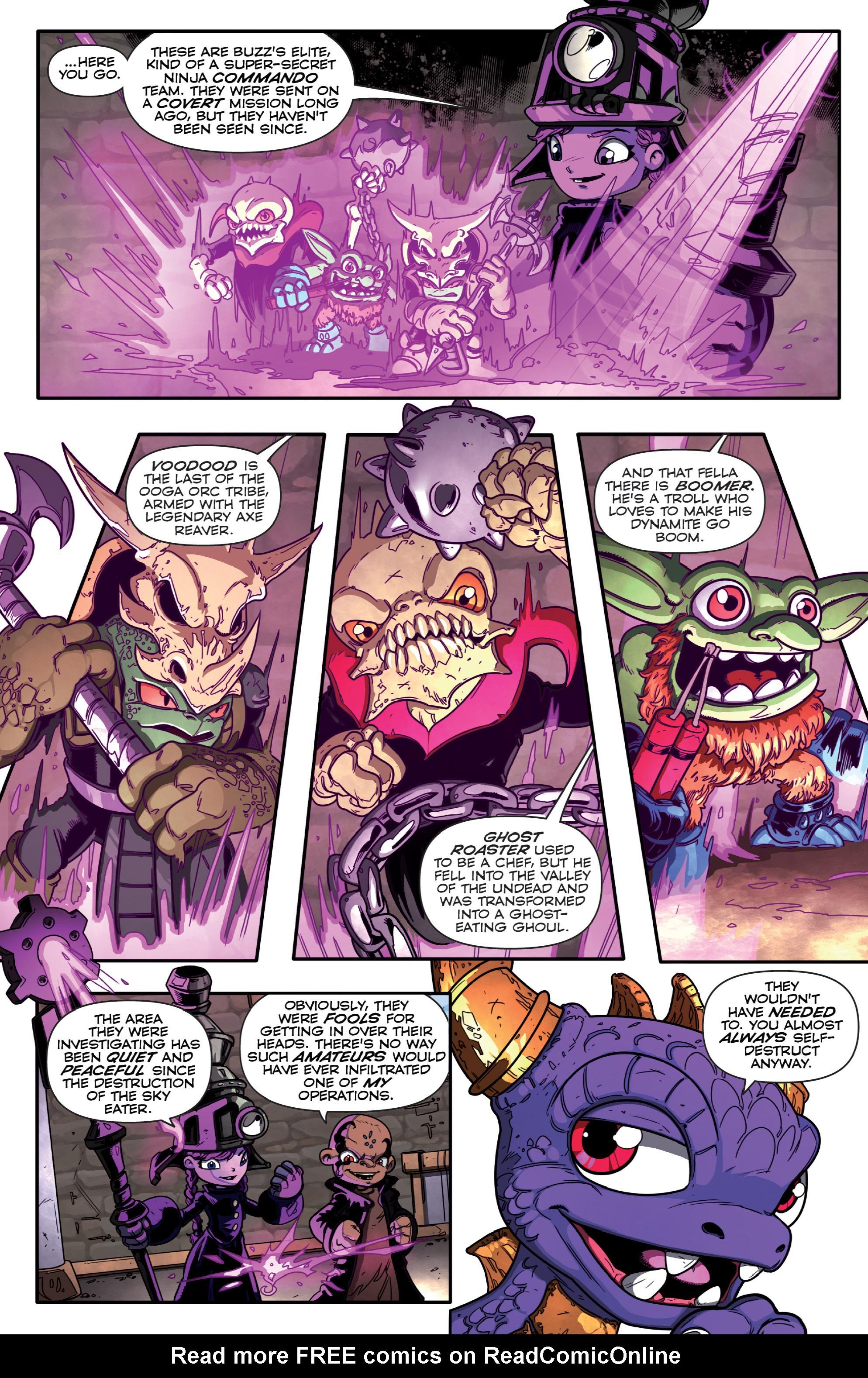 Read online Skylanders Superchargers comic -  Issue #1 - 7
