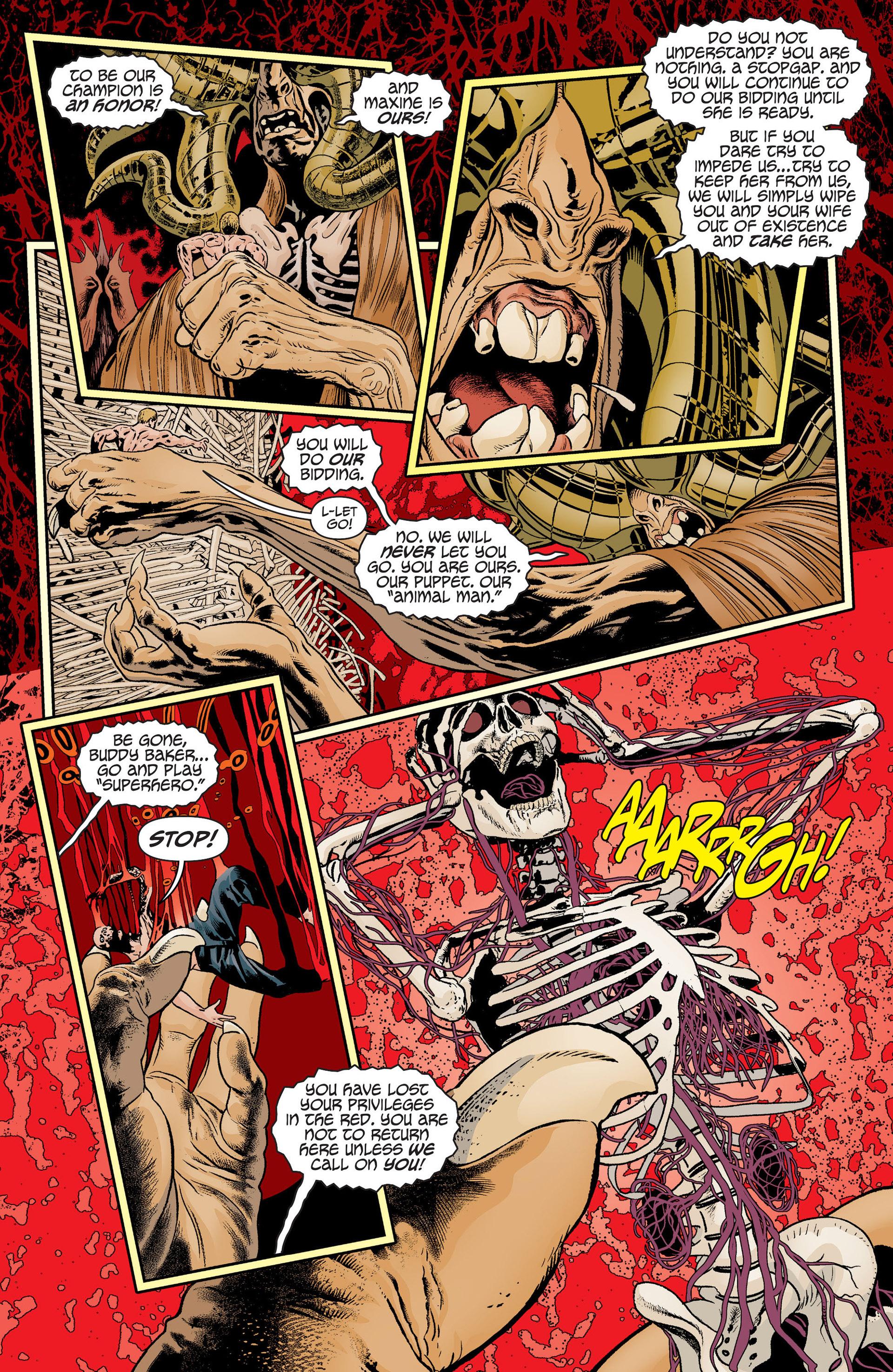 Read online Animal Man (2011) comic -  Issue #19 - 19
