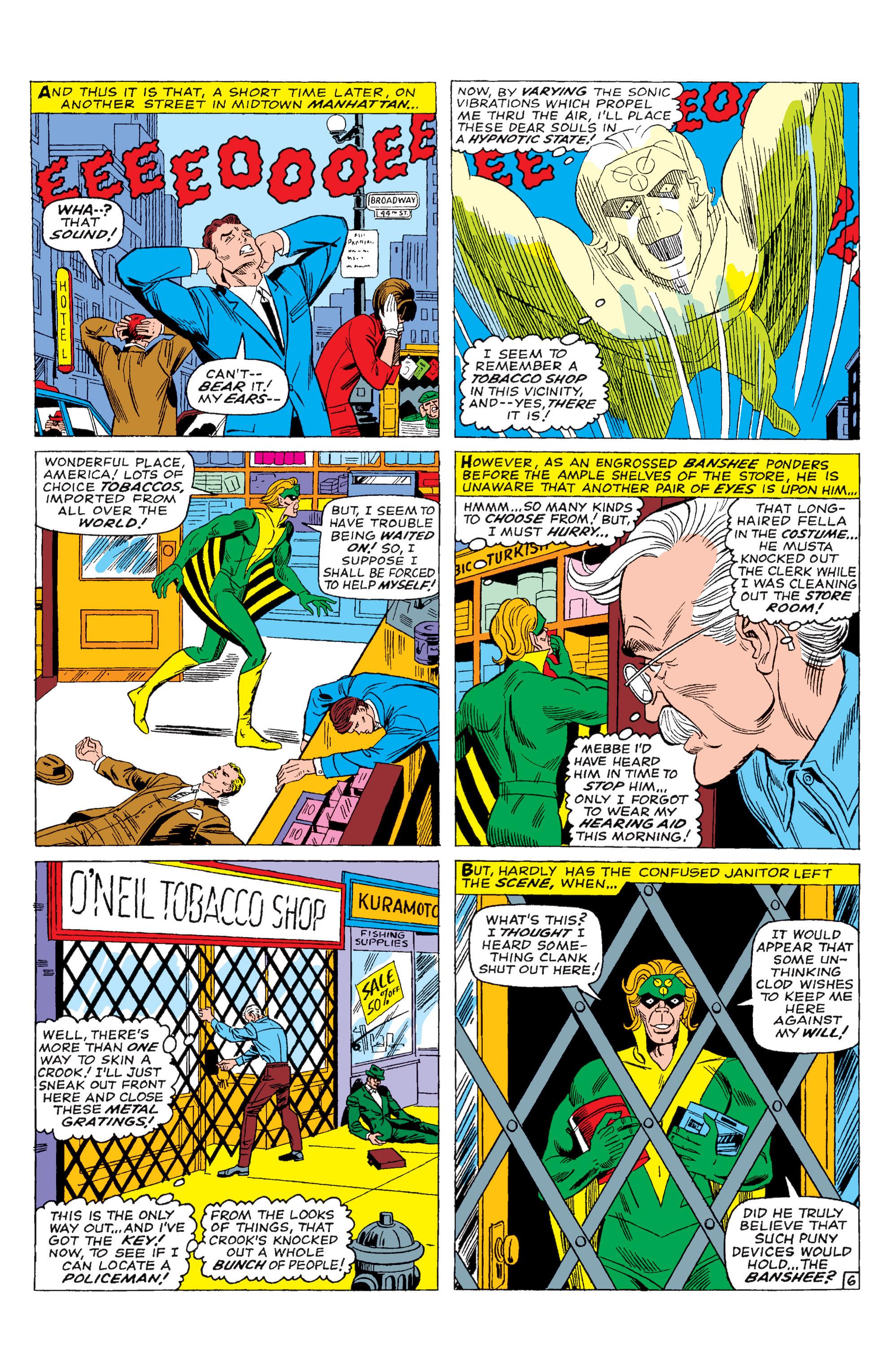Read online Uncanny X-Men (1963) comic -  Issue #28 - 7