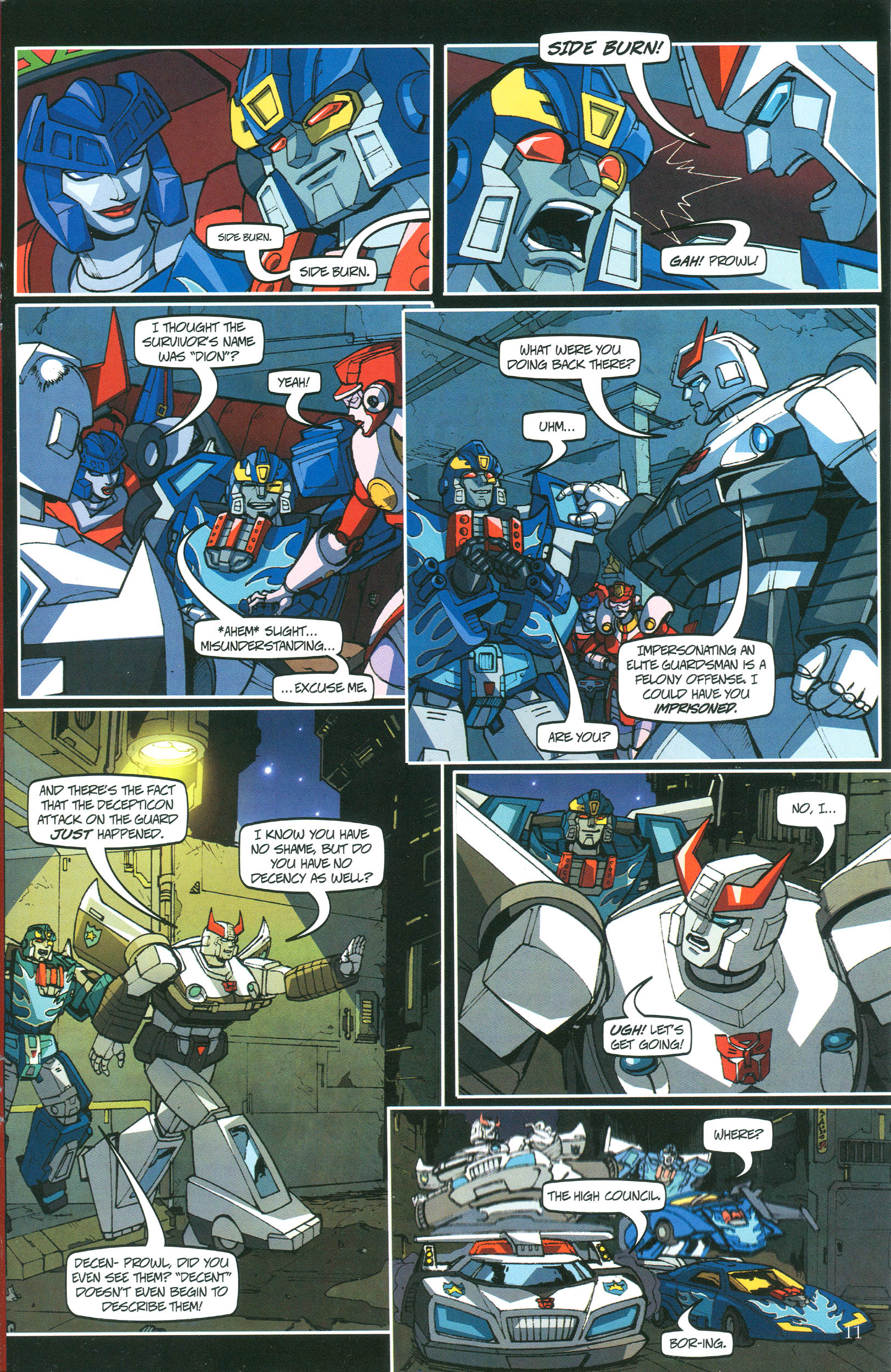 Read online Transformers: Collectors' Club comic -  Issue #37 - 11