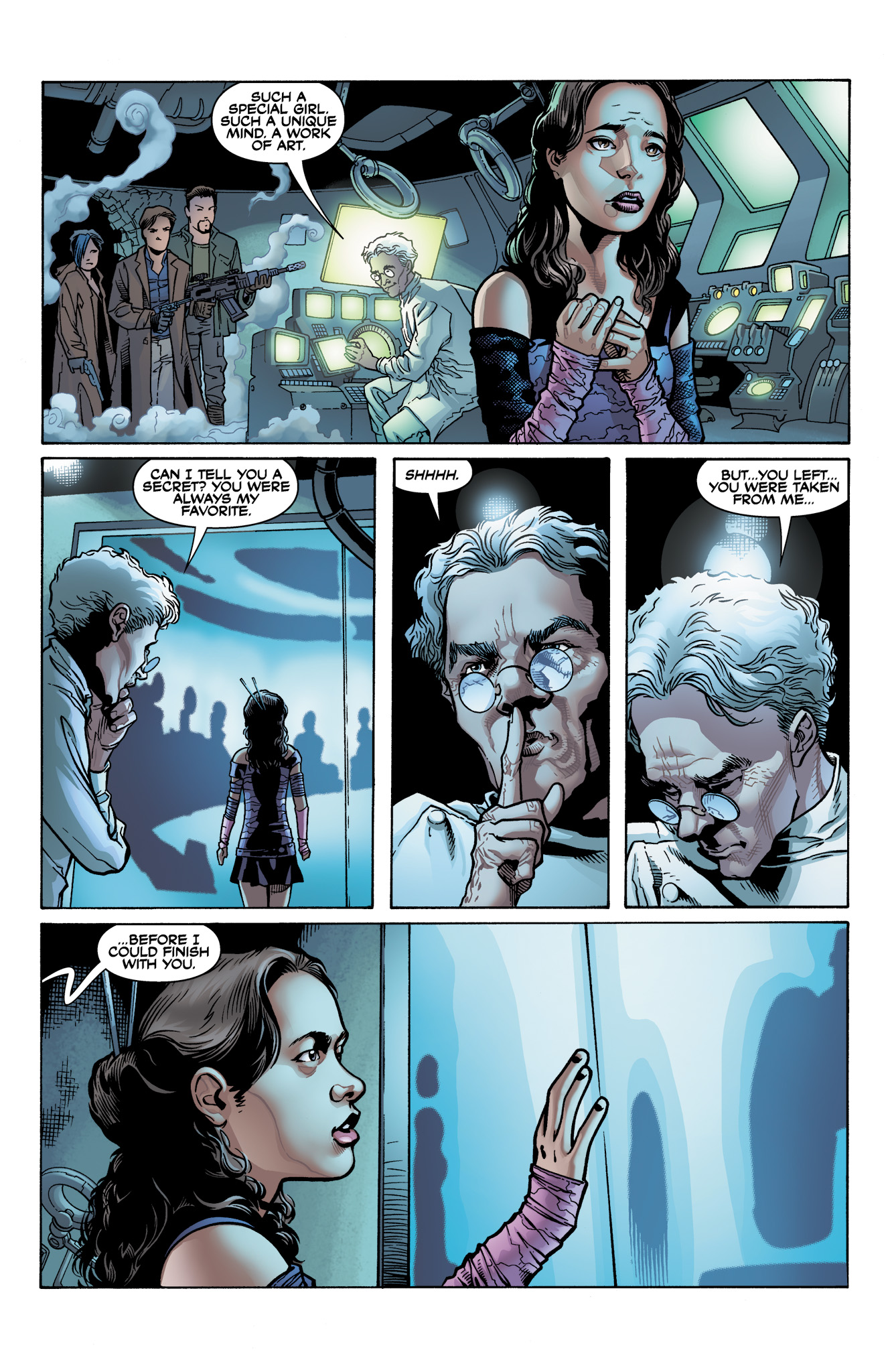 Read online Serenity: Firefly Class 03-K64  Leaves on the Wind comic -  Issue #4 - 22