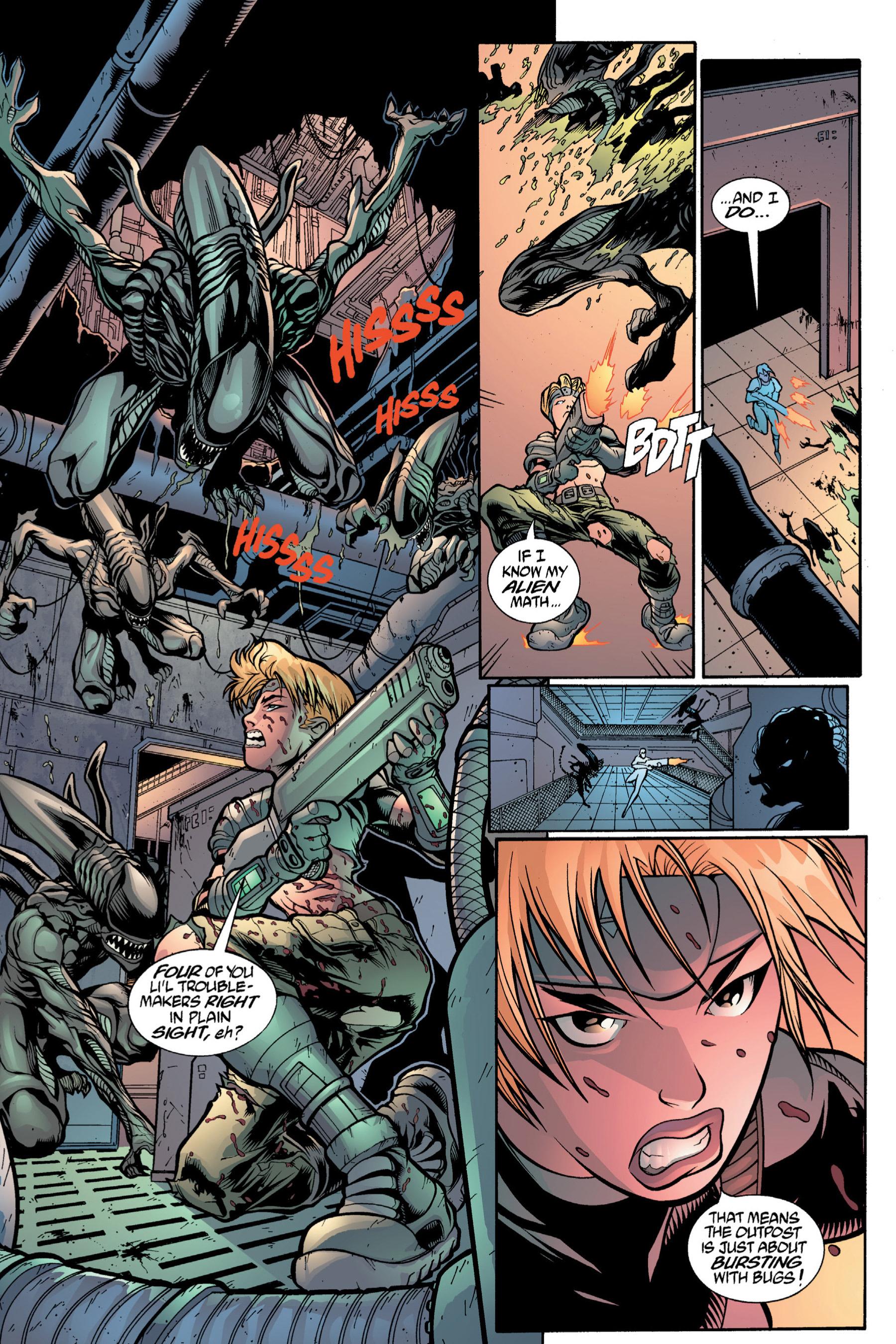 Read online Aliens vs. Predator Omnibus comic -  Issue # _TPB 2 Part 4 - 19