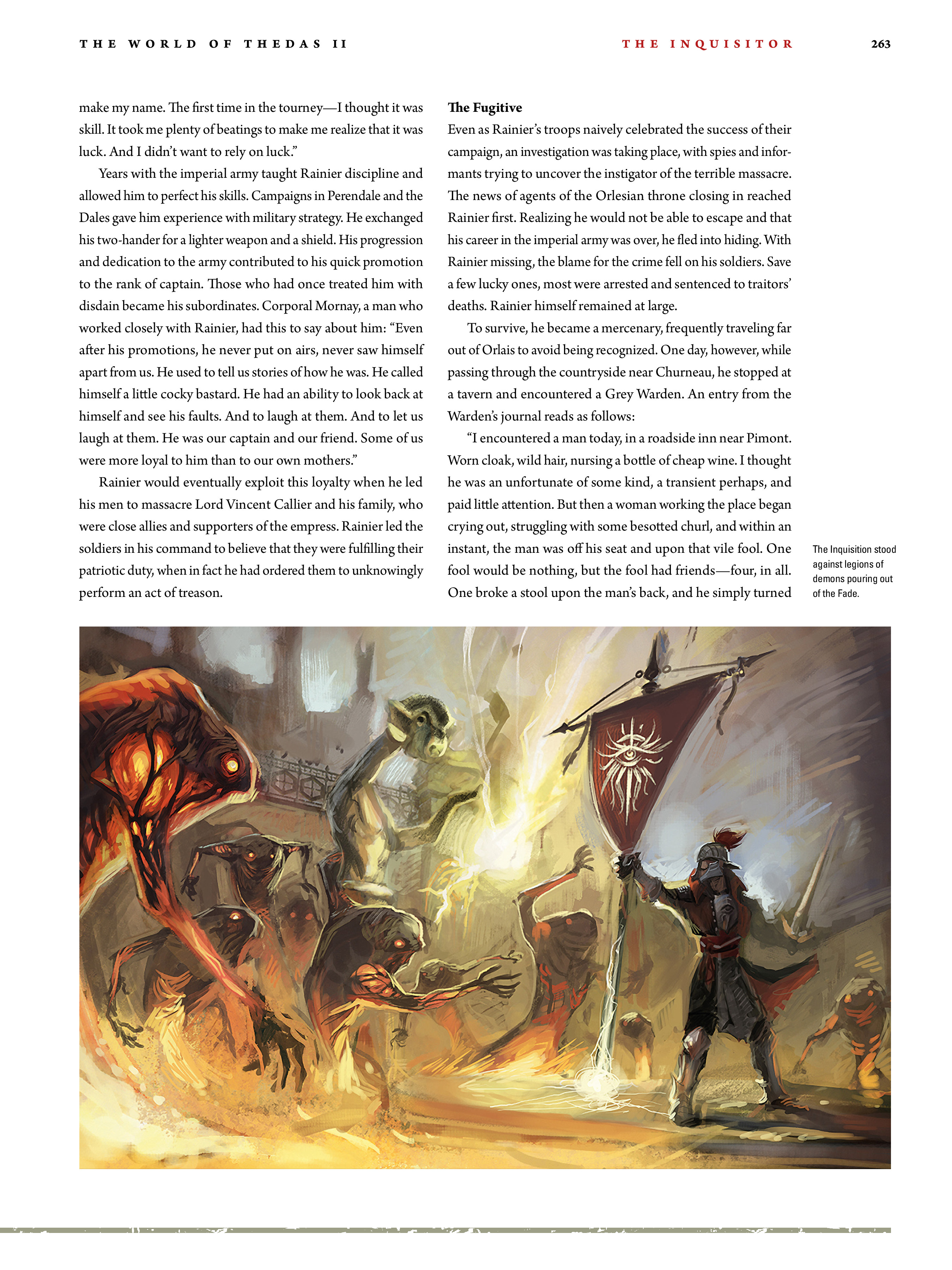 Read online Dragon Age: The World of Thedas comic -  Issue # TPB 2 - 256
