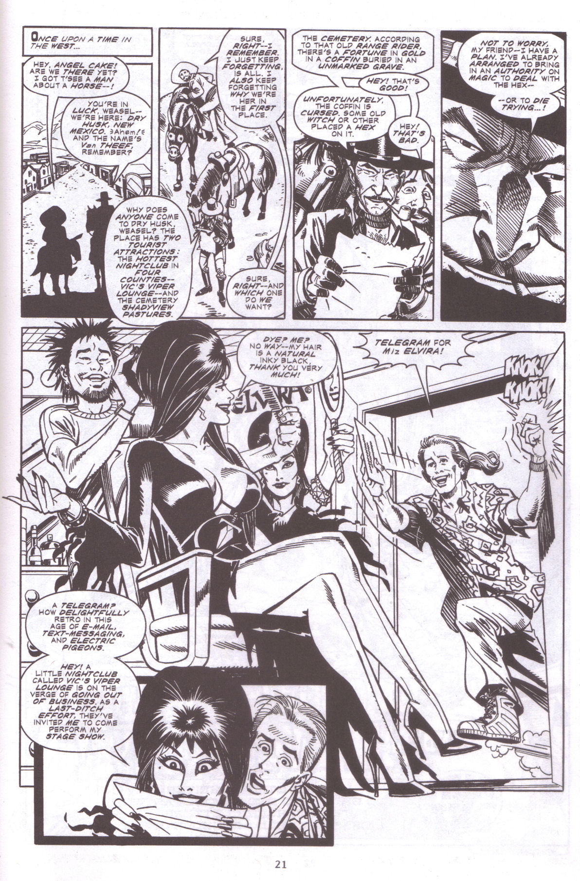 Read online Elvira, Mistress of the Dark comic -  Issue #159 - 23