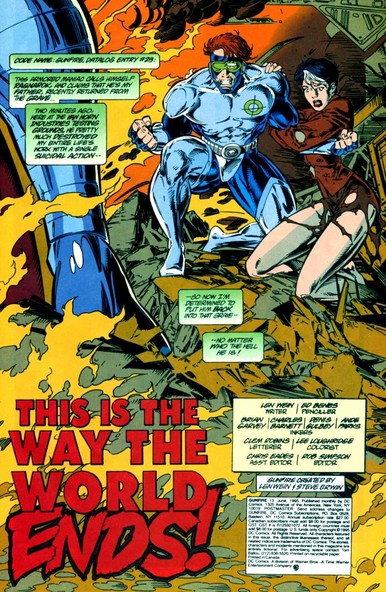 Read online Gunfire comic -  Issue #13 - 3