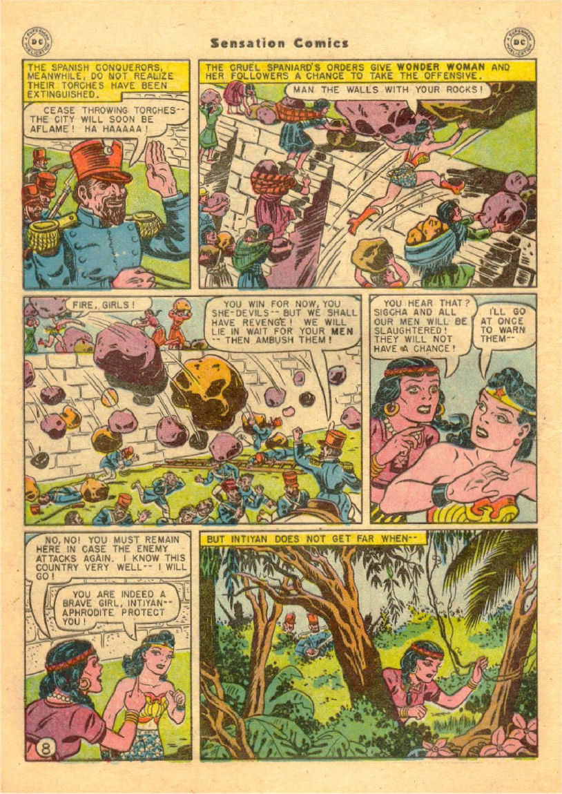 Read online Sensation (Mystery) Comics comic -  Issue #70 - 9