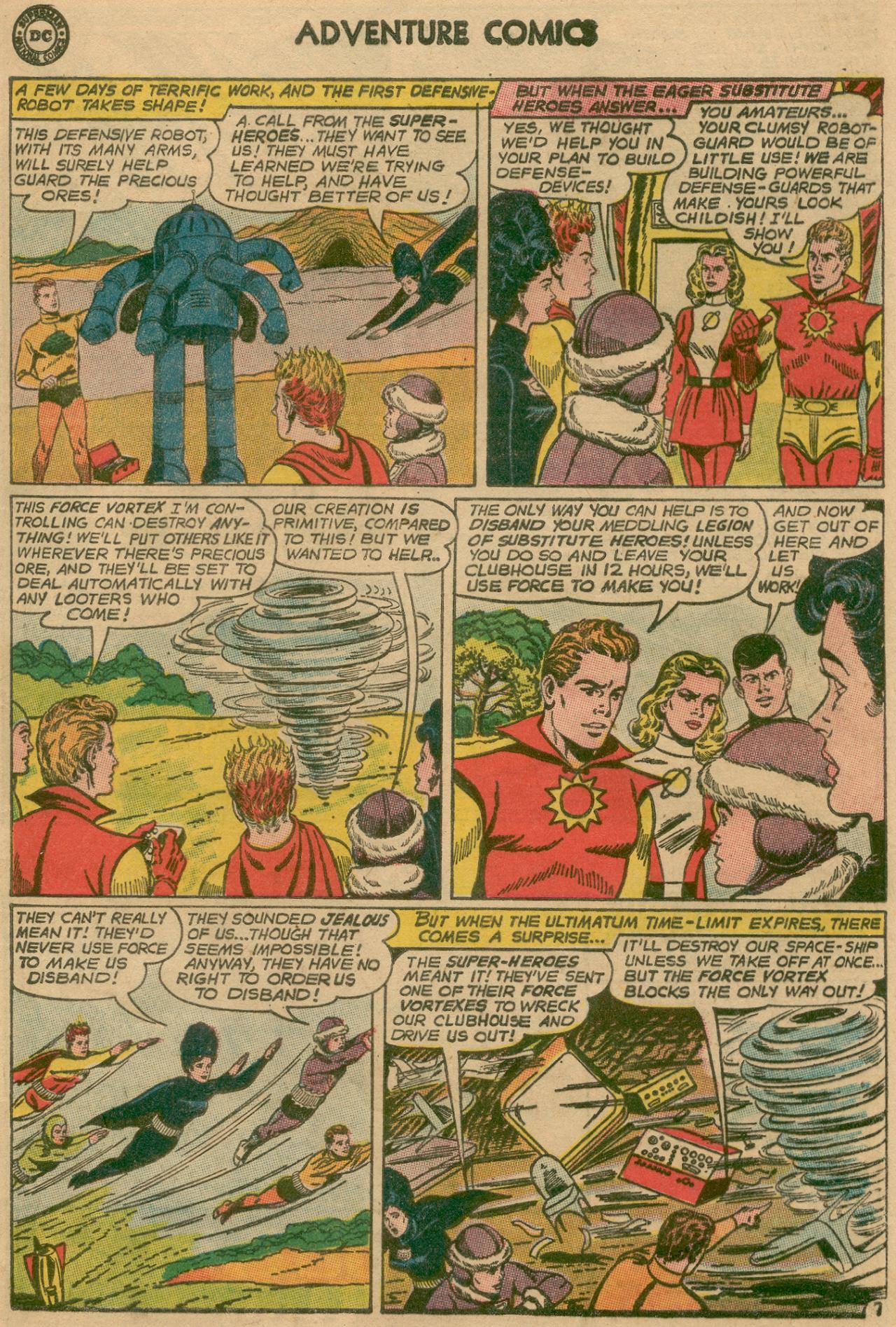 Read online Adventure Comics (1938) comic -  Issue #311 - 8