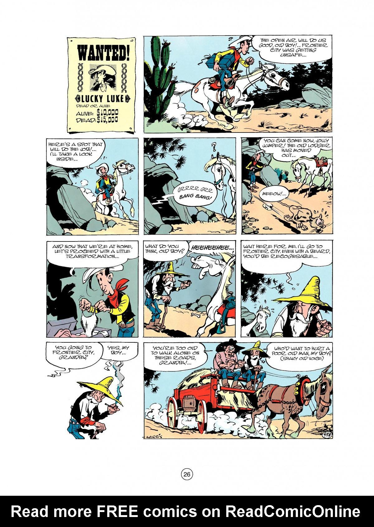 Read online A Lucky Luke Adventure comic -  Issue #27 - 27