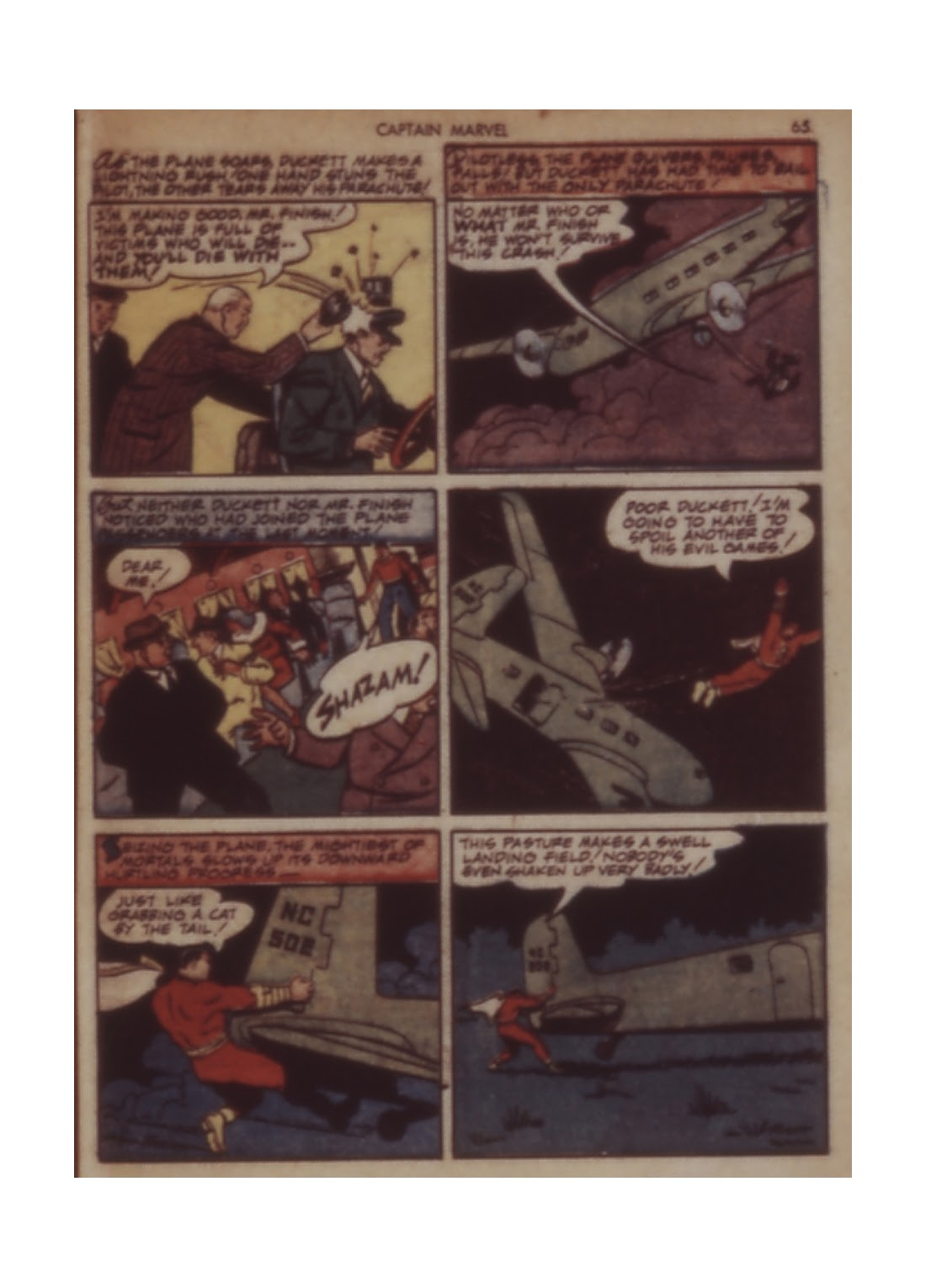 Captain Marvel Adventures issue 11 - Page 65