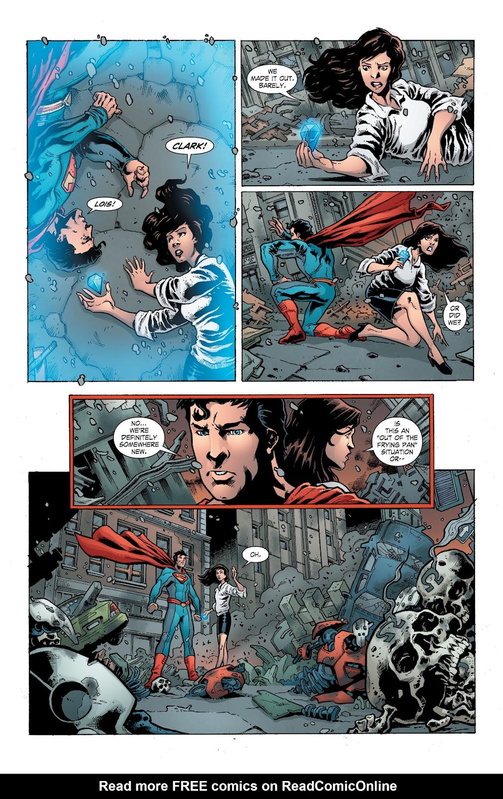 Read online Smallville Season 11 [II] comic -  Issue # TPB 8 - 109