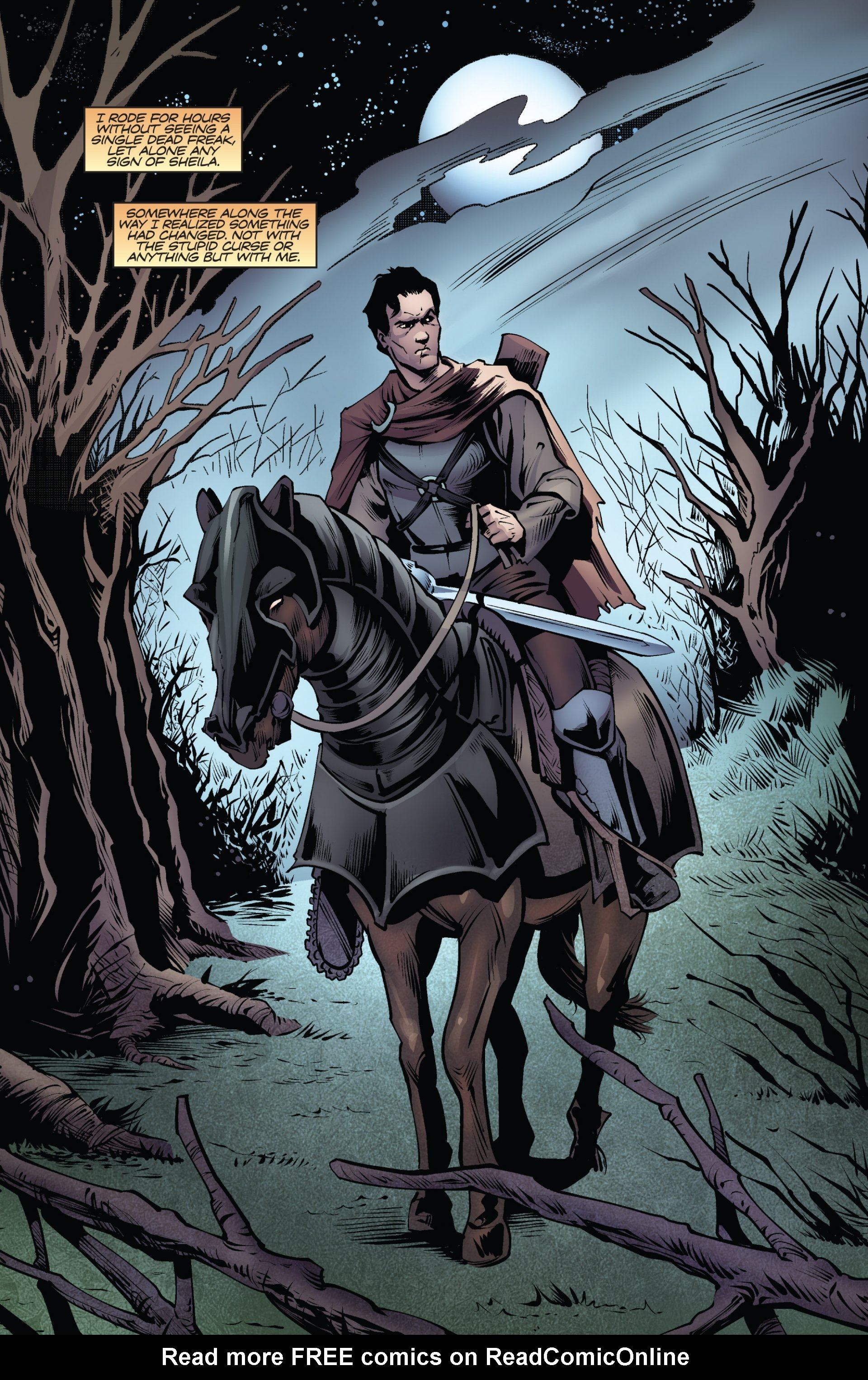 Read online Ash and the Army of Darkness comic -  Issue #6 - 12