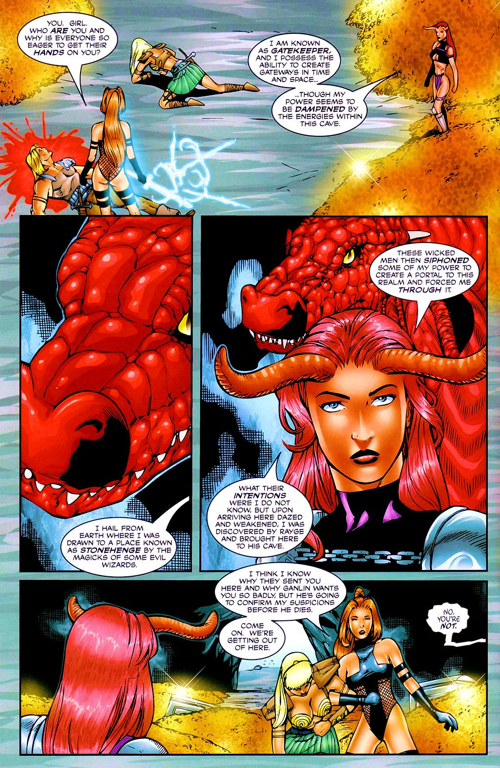 Read online Avengelyne: Dragon Realm comic -  Issue #2 - 11