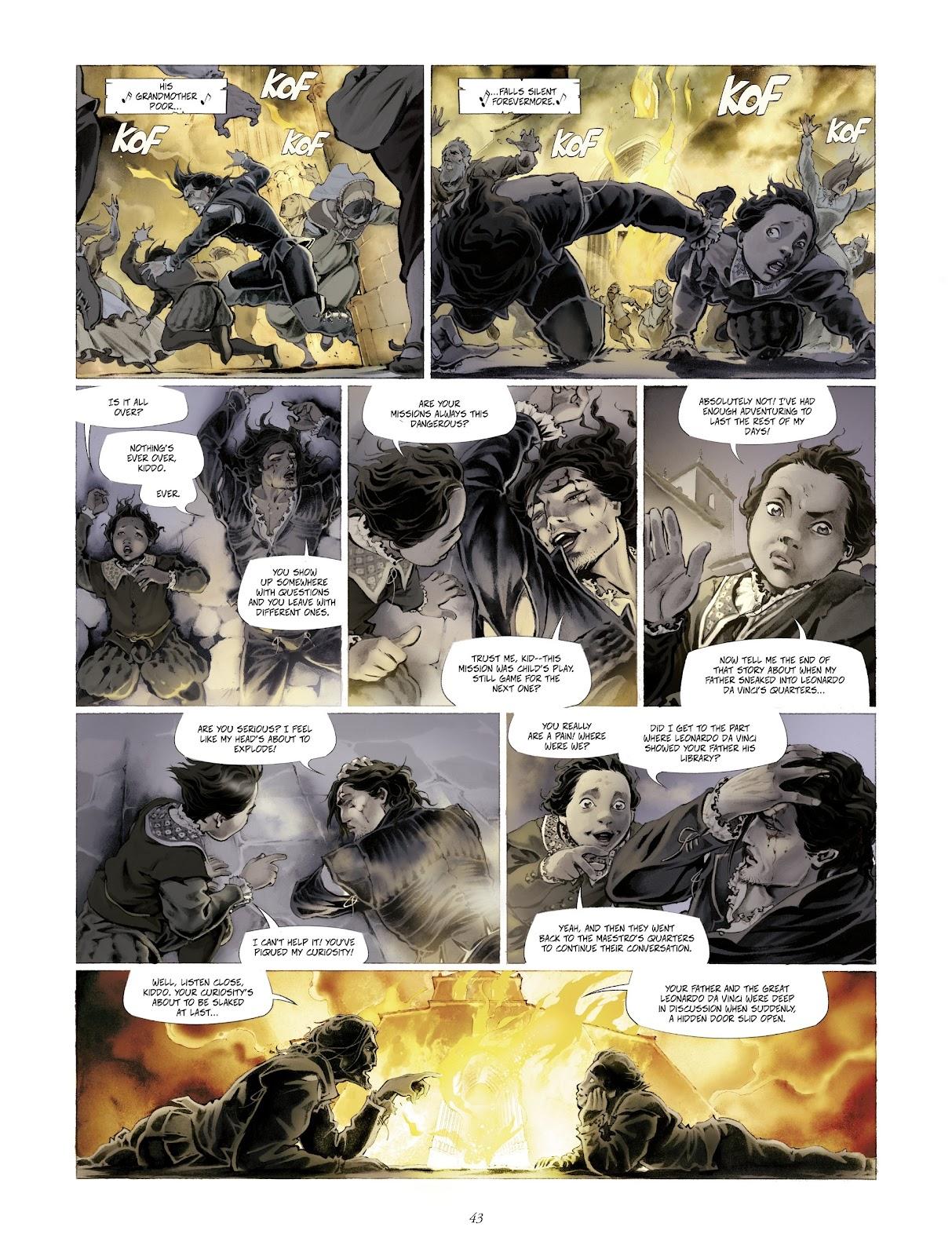 Read online Arthus Trivium comic -  Issue #4 - 45
