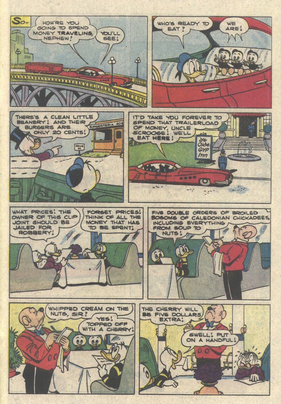 Read online Uncle Scrooge (1953) comic -  Issue #216 - 29