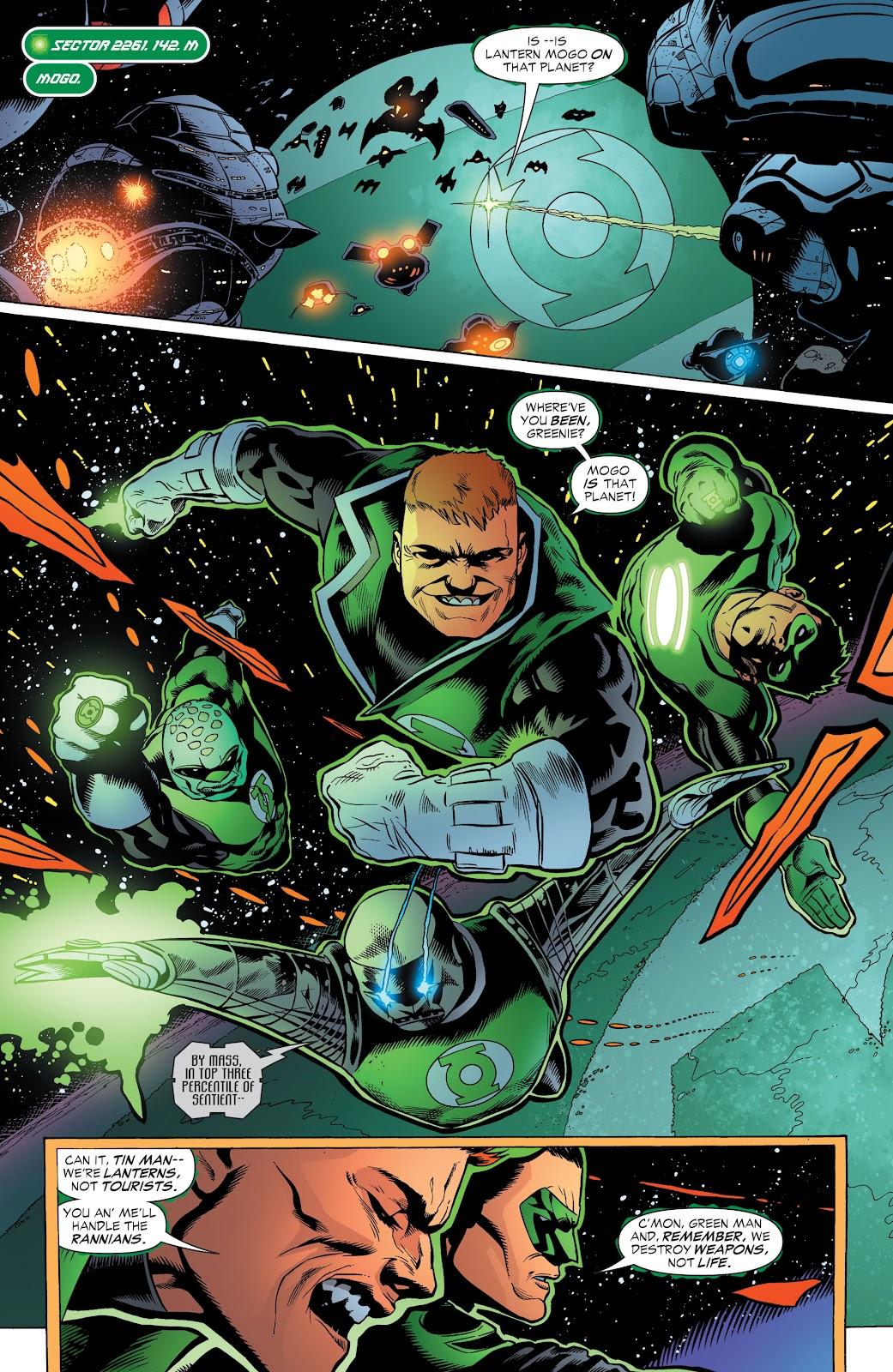 Read online Green Lantern by Geoff Johns comic -  Issue # TPB 1 (Part 3) - 12