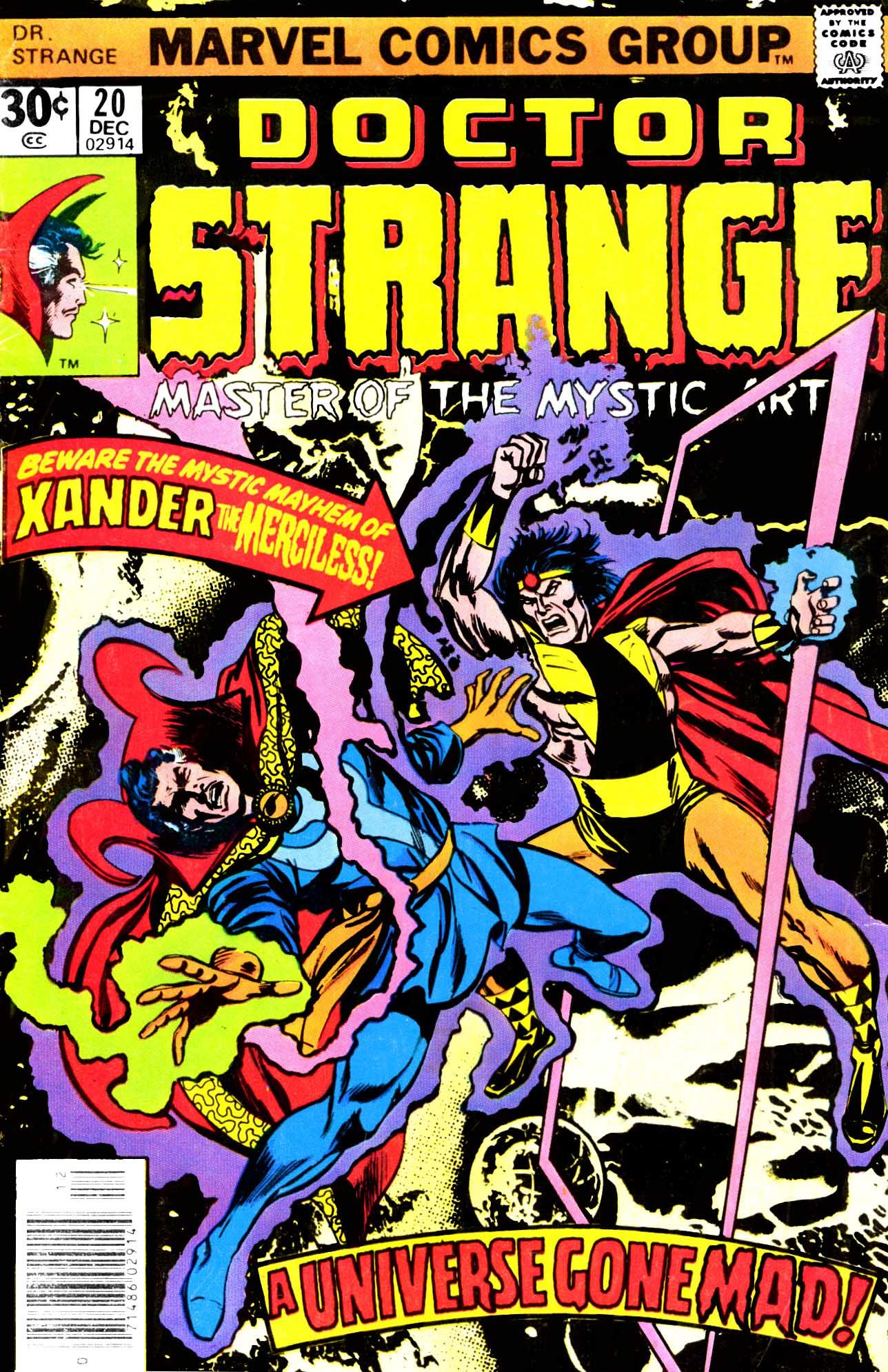 Doctor Strange (1974) 20 Page 1