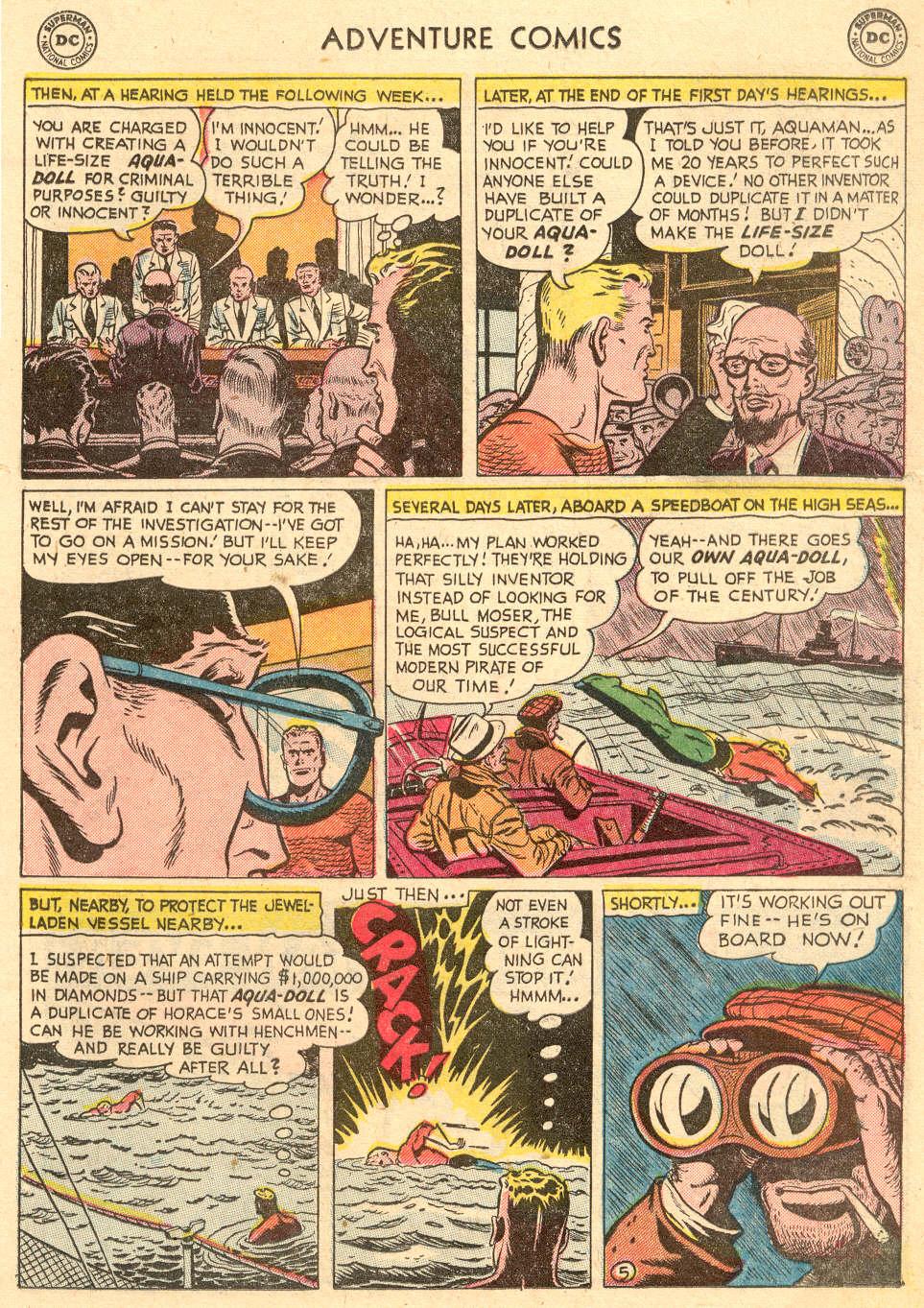 Read online Adventure Comics (1938) comic -  Issue #208 - 19