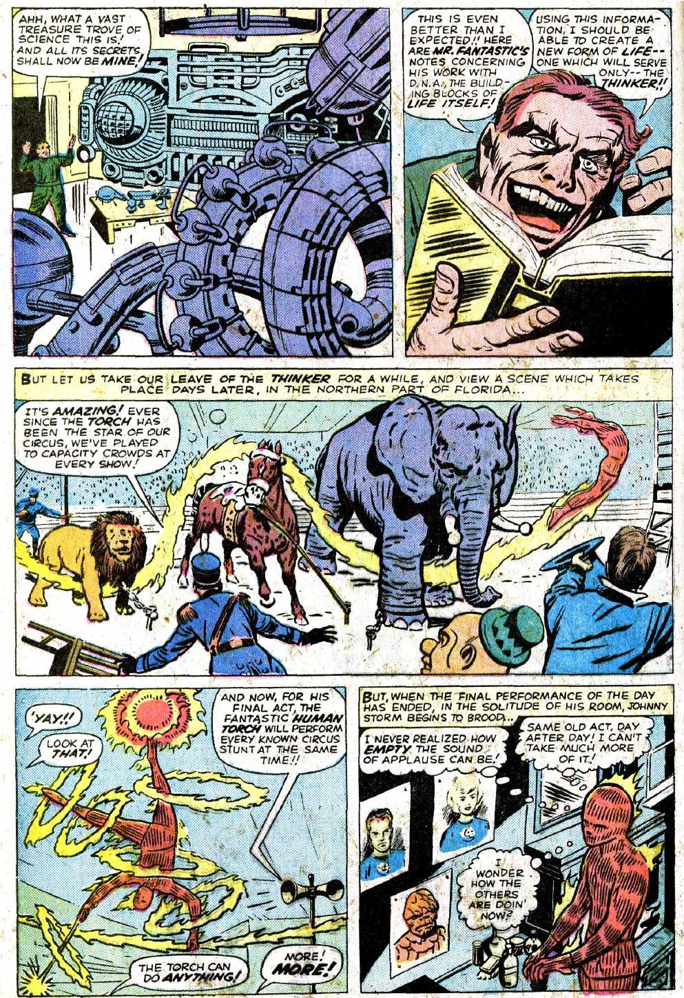 Giant-Size Fantastic Four issue 5 - Page 54