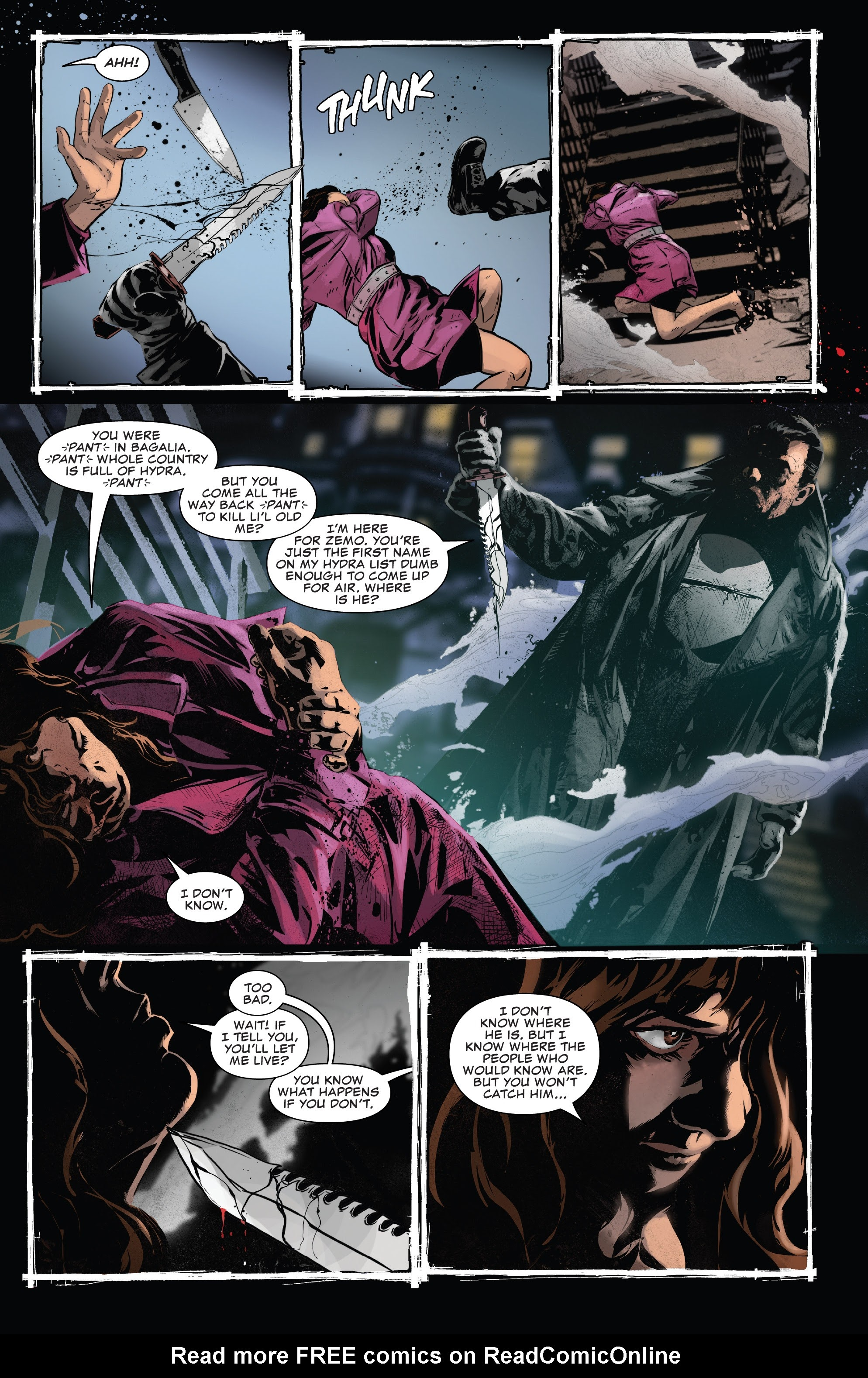 Read online The Punisher (2018) comic -  Issue #13 - 7