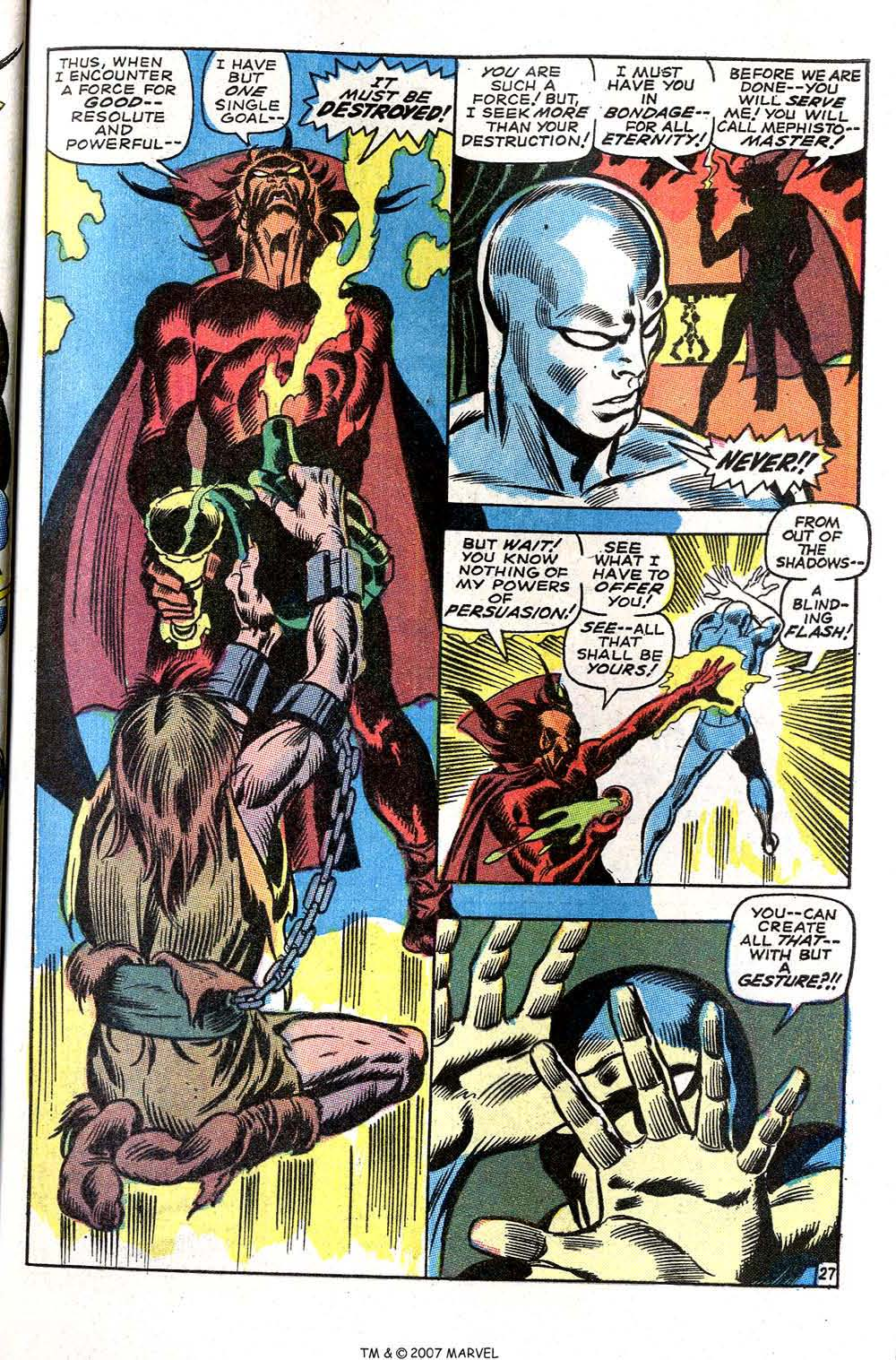 Silver Surfer (1968) issue 3 - Page 33