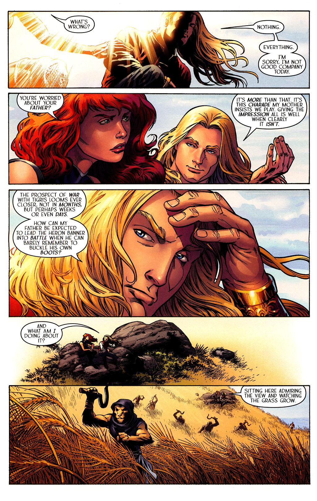 Read online Scion comic -  Issue #40 - 7
