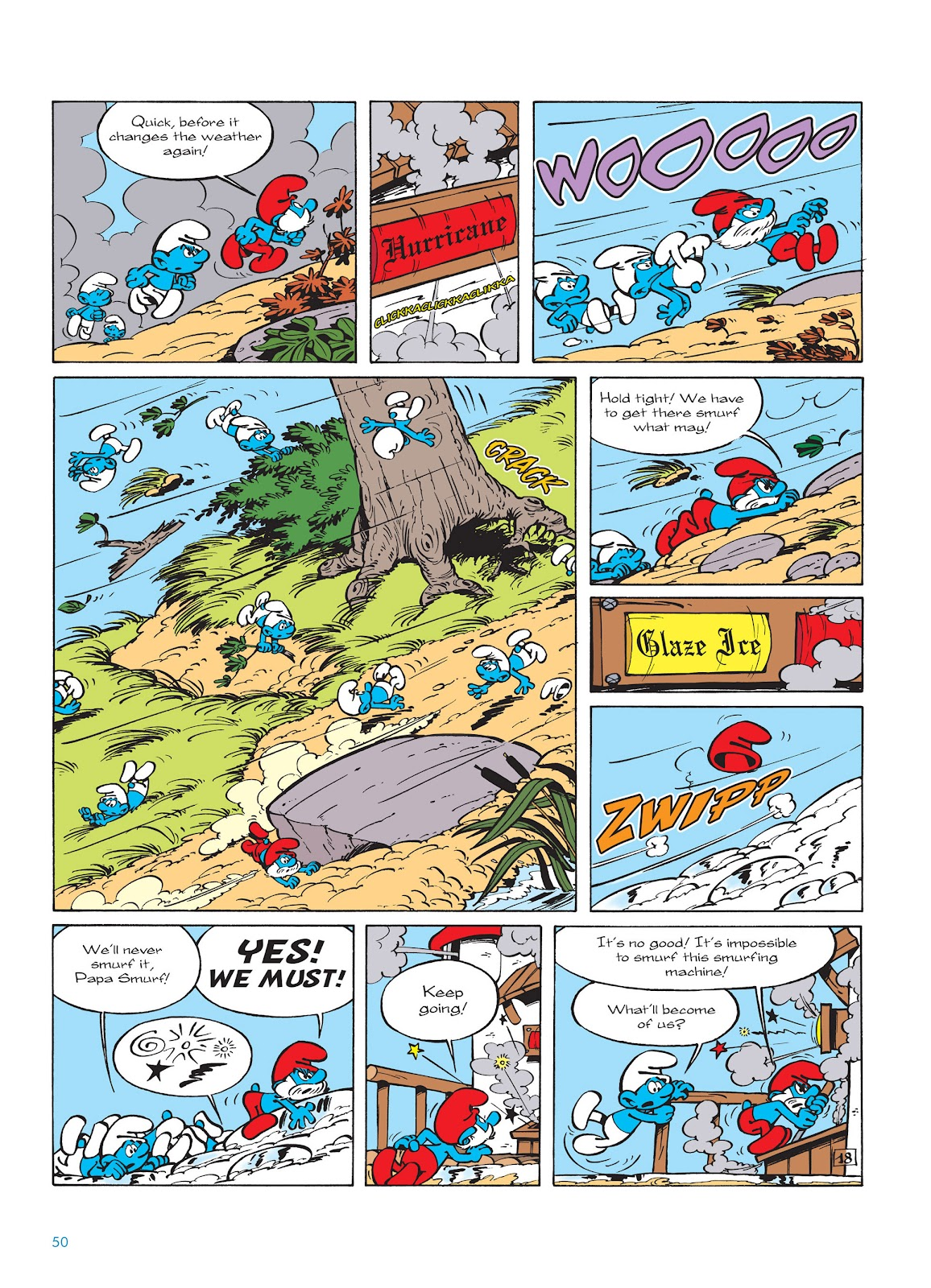 Read online The Smurfs comic -  Issue #14 - 51